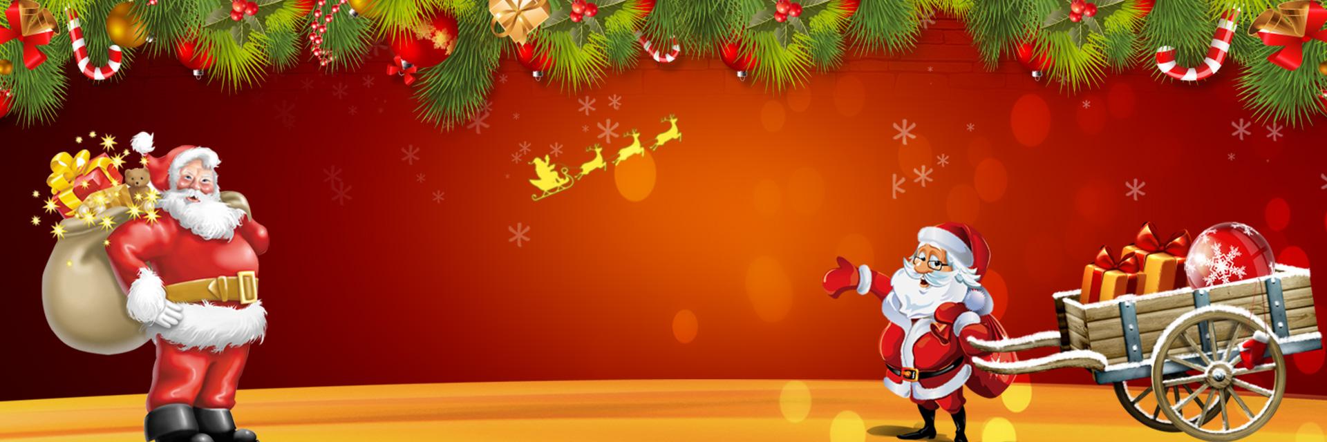 christmas santa claus background banner  christmas  santa