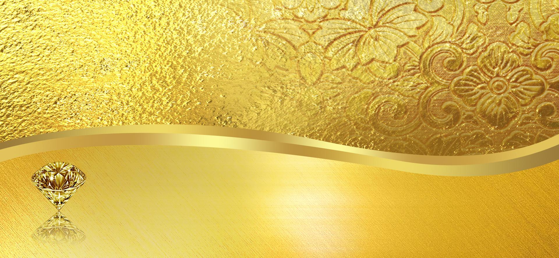 luxurious texture pattern golden background banner