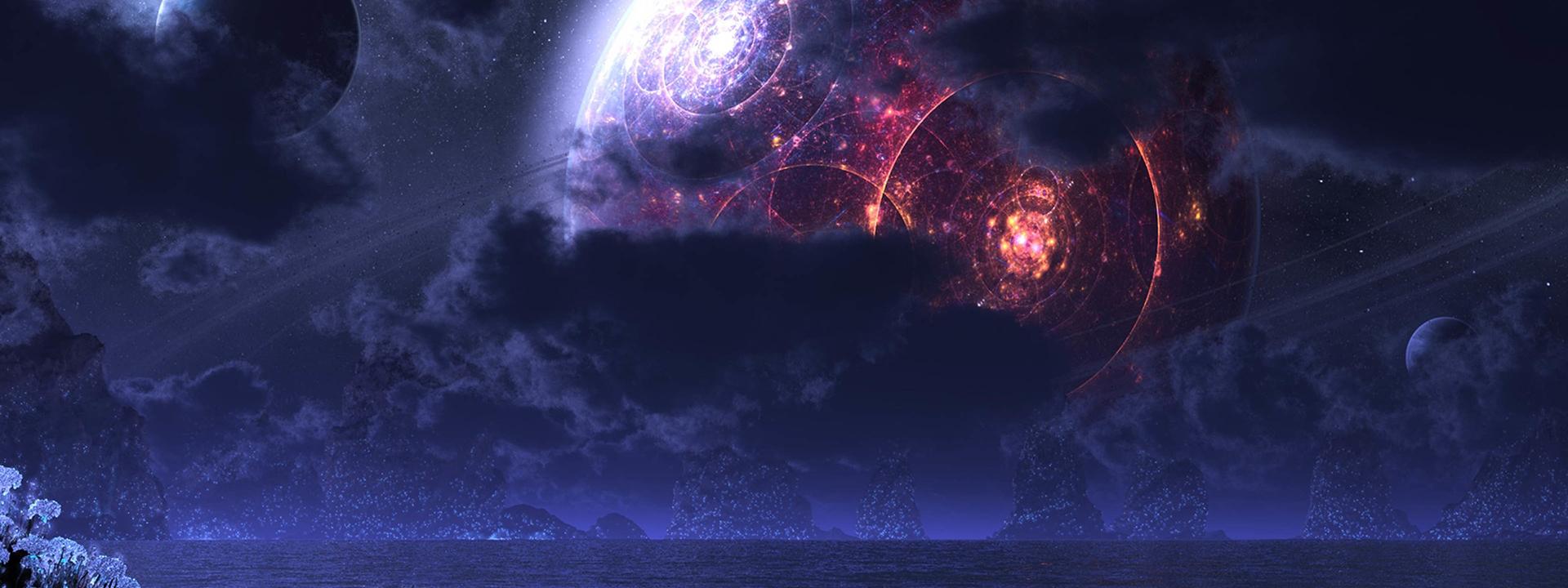 taobao banni u00e8re l univers de l espace magnifique image de