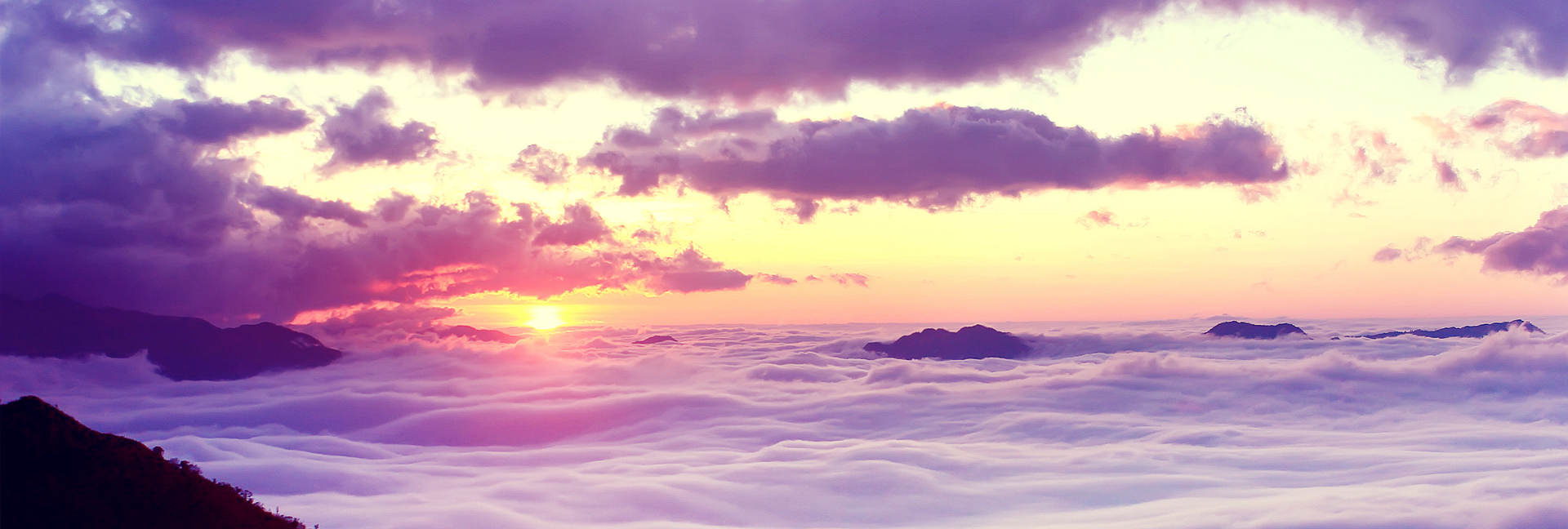 atmospheric clouds background sunset banner  women  sky