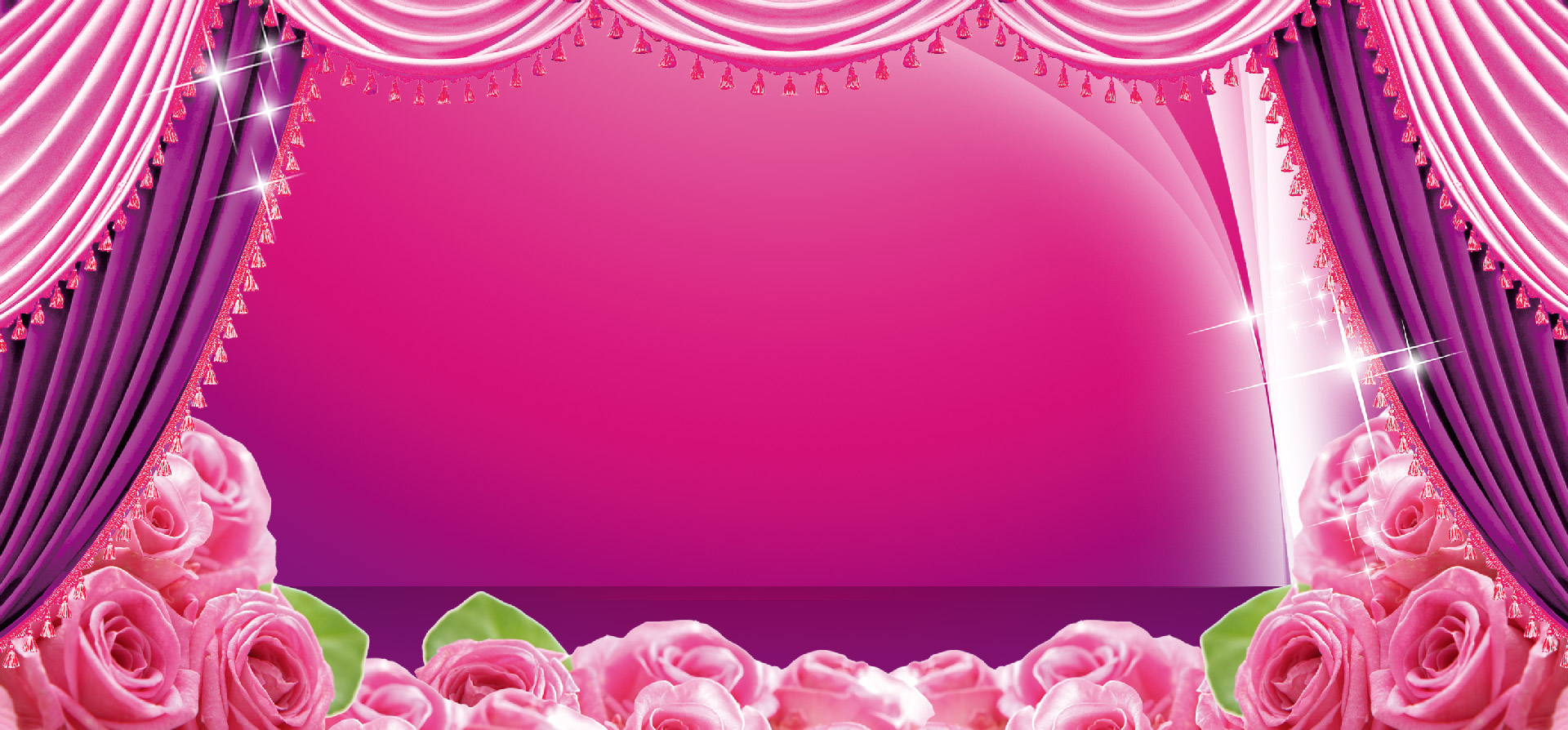 Pink Background Wedding Marriage