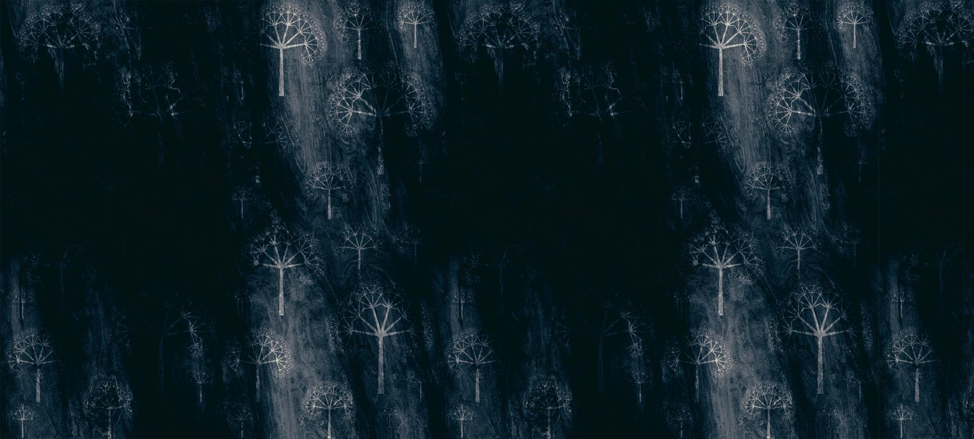 l arbre ombrage sans soudure de site web de fond sombre d