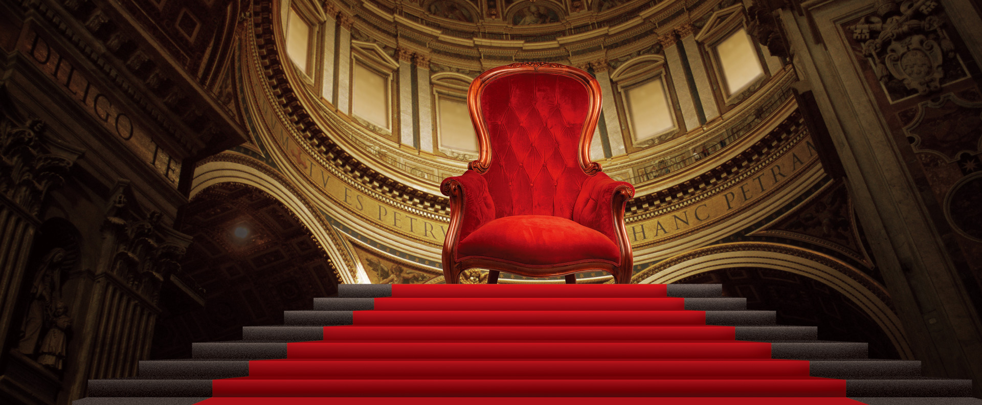 Throne Palace Stairs Chair Background Atmospheric