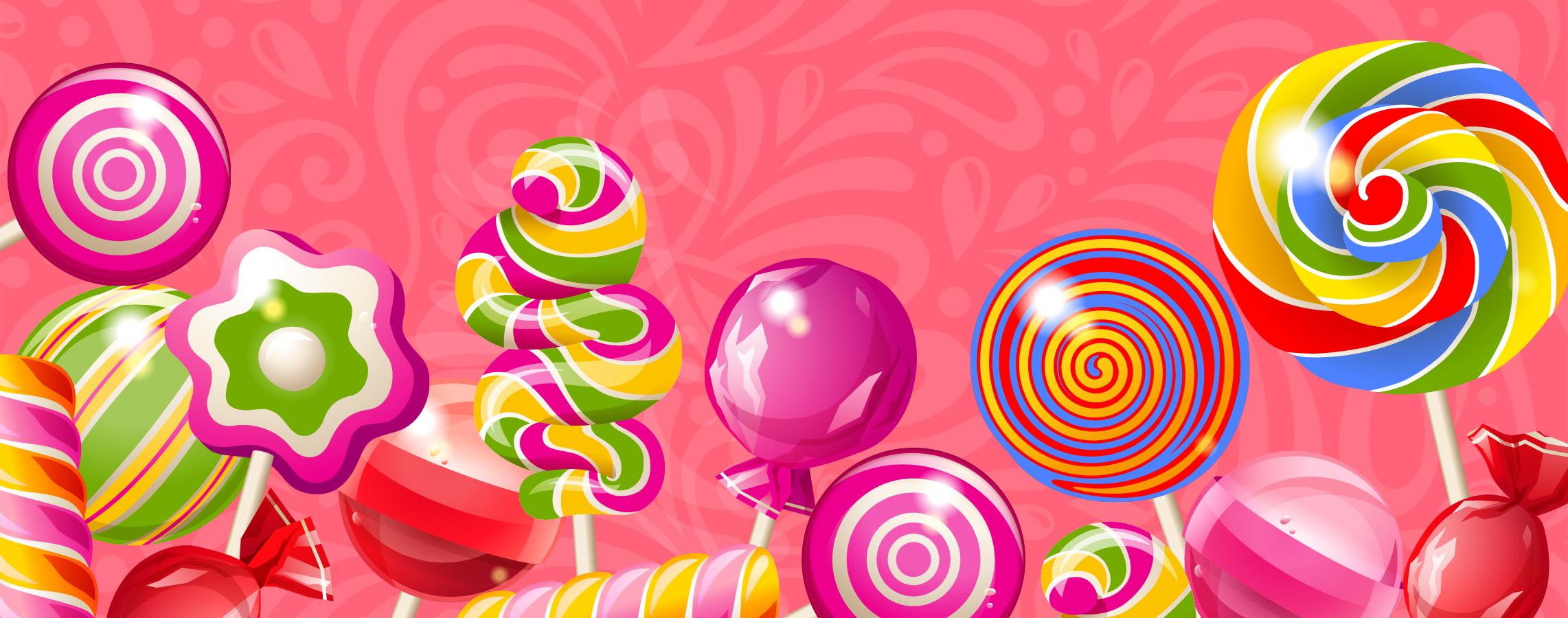 background color colorful lollipop  color  beautiful
