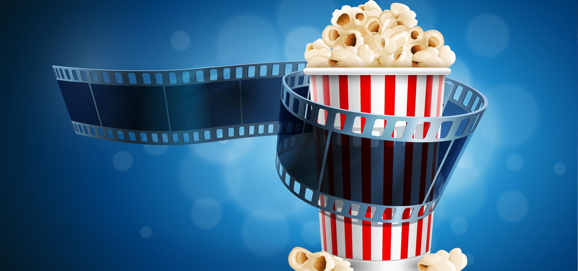 Movie Popcorn Background  Film  Popcorn  3d Background
