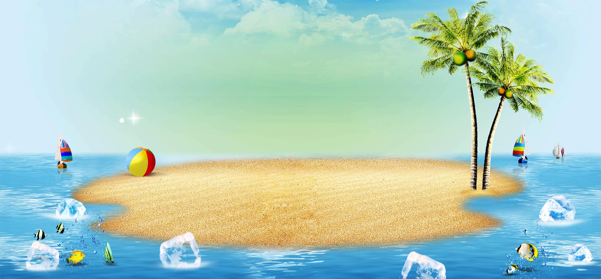 sand beach ocean sea background  water  vacation  sky