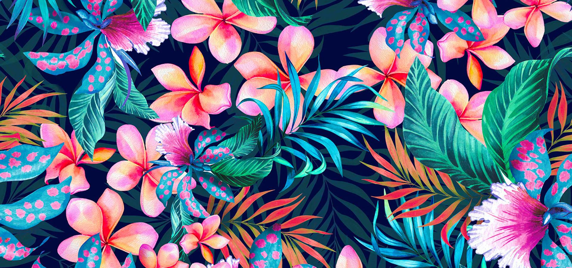 картинки на черном фоне с яркими цветами пошаговые рецепты