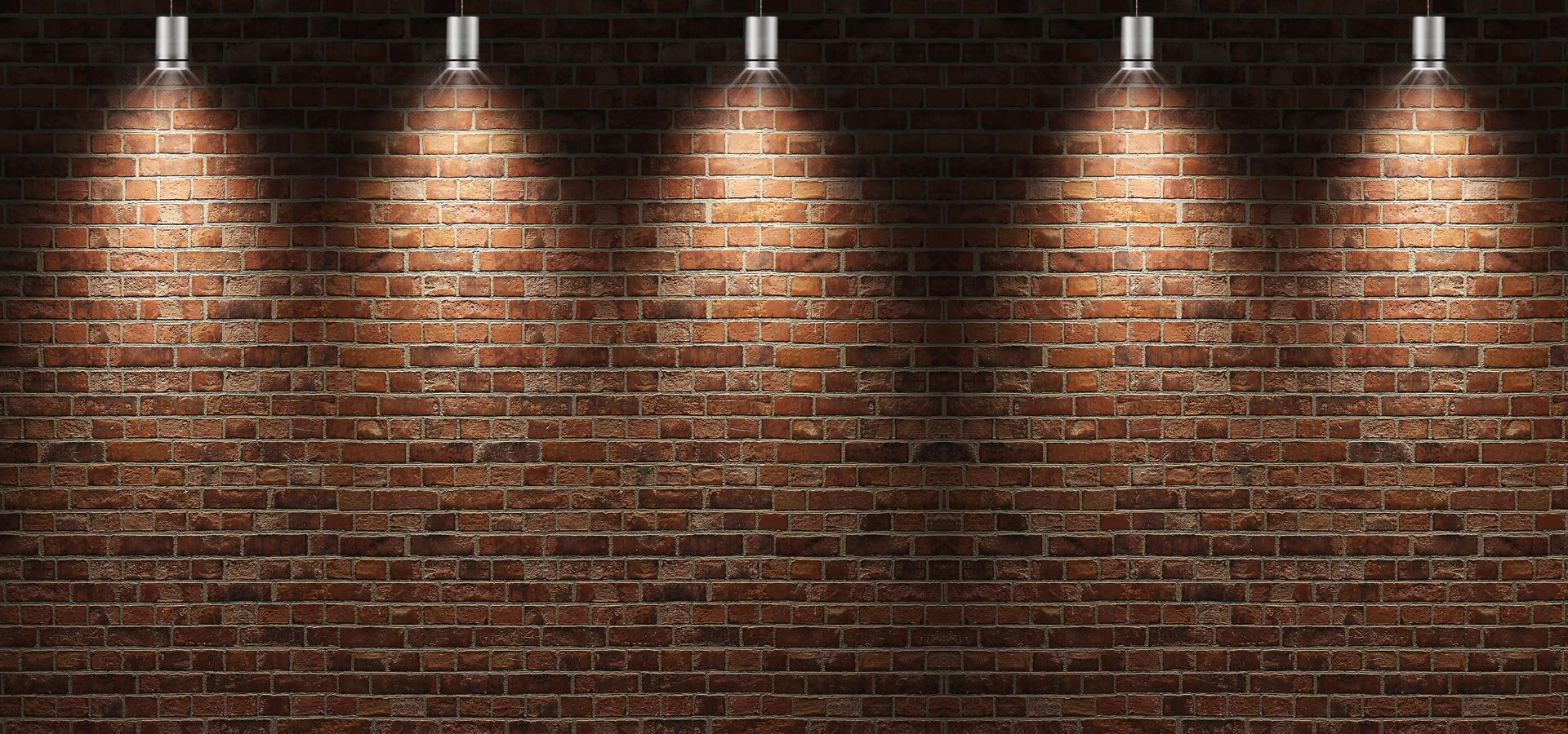 brick walls background lighting  brick  walls  flashlight