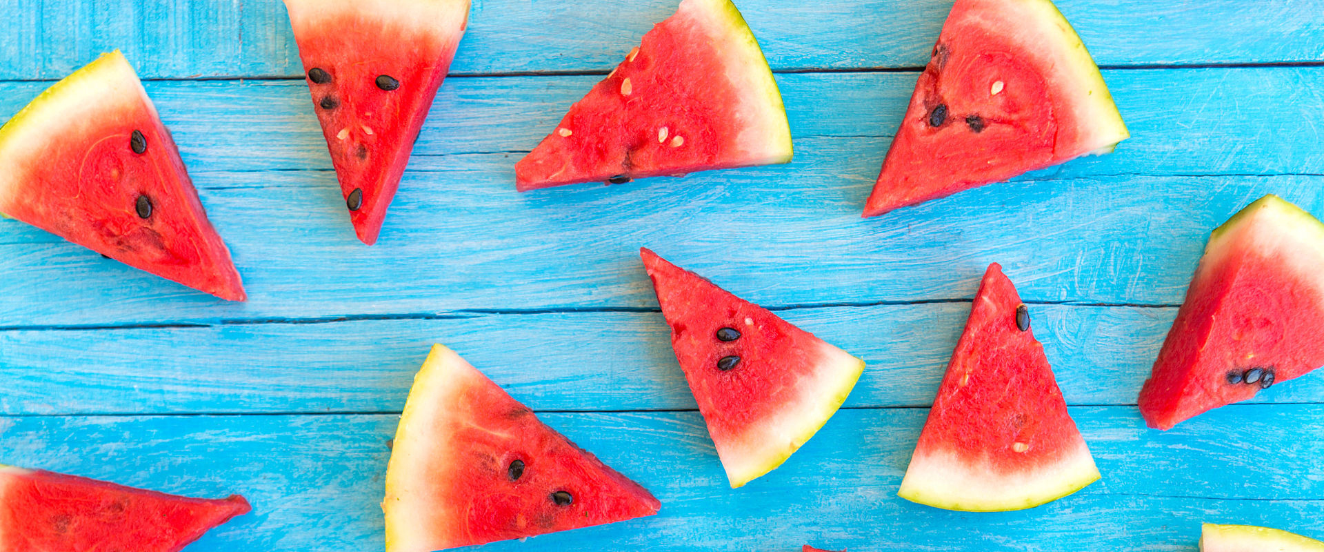 watermelon background  blue  wooden  table background