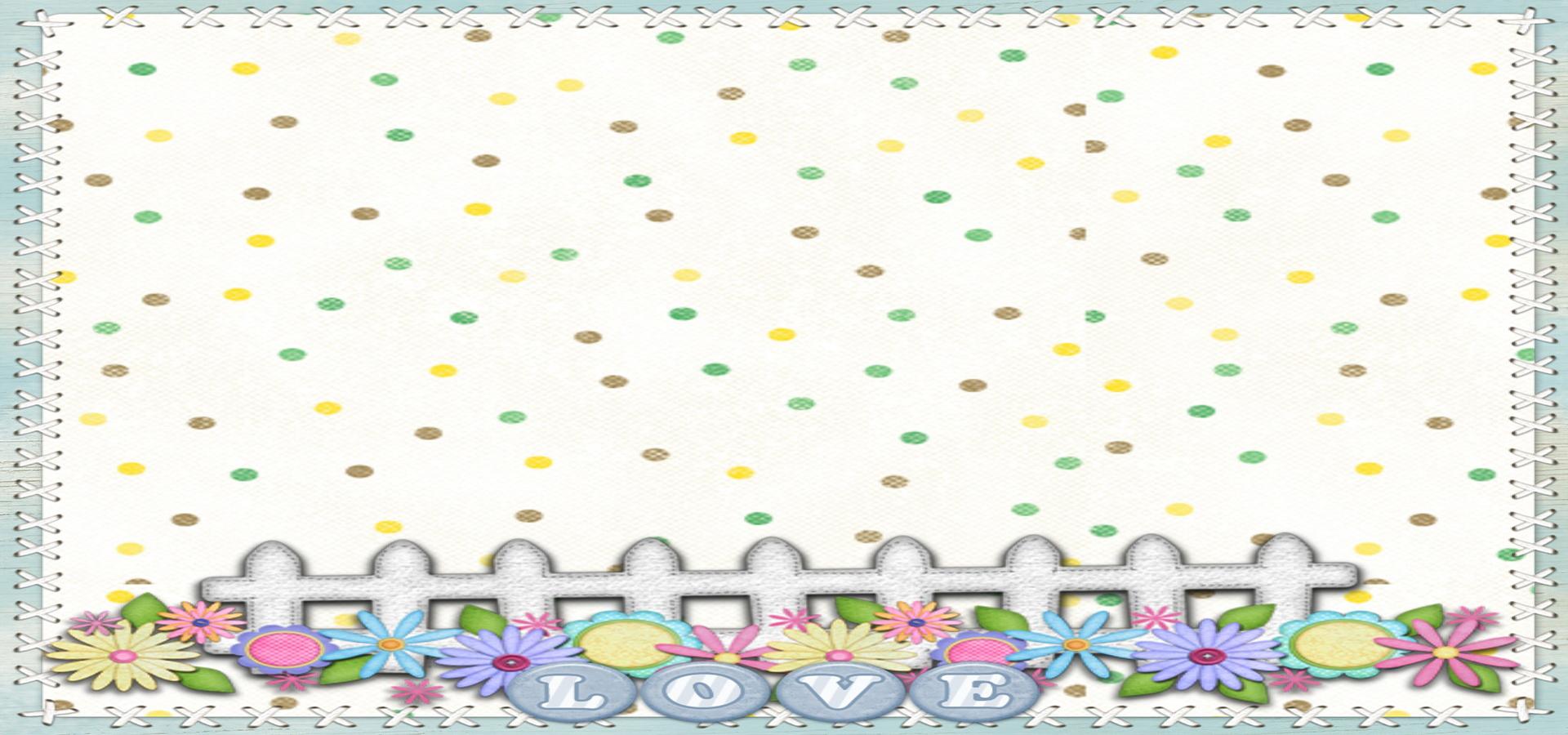 El tejido de fondo de dibujos animados, Cartoon, Tejer, Flores ...