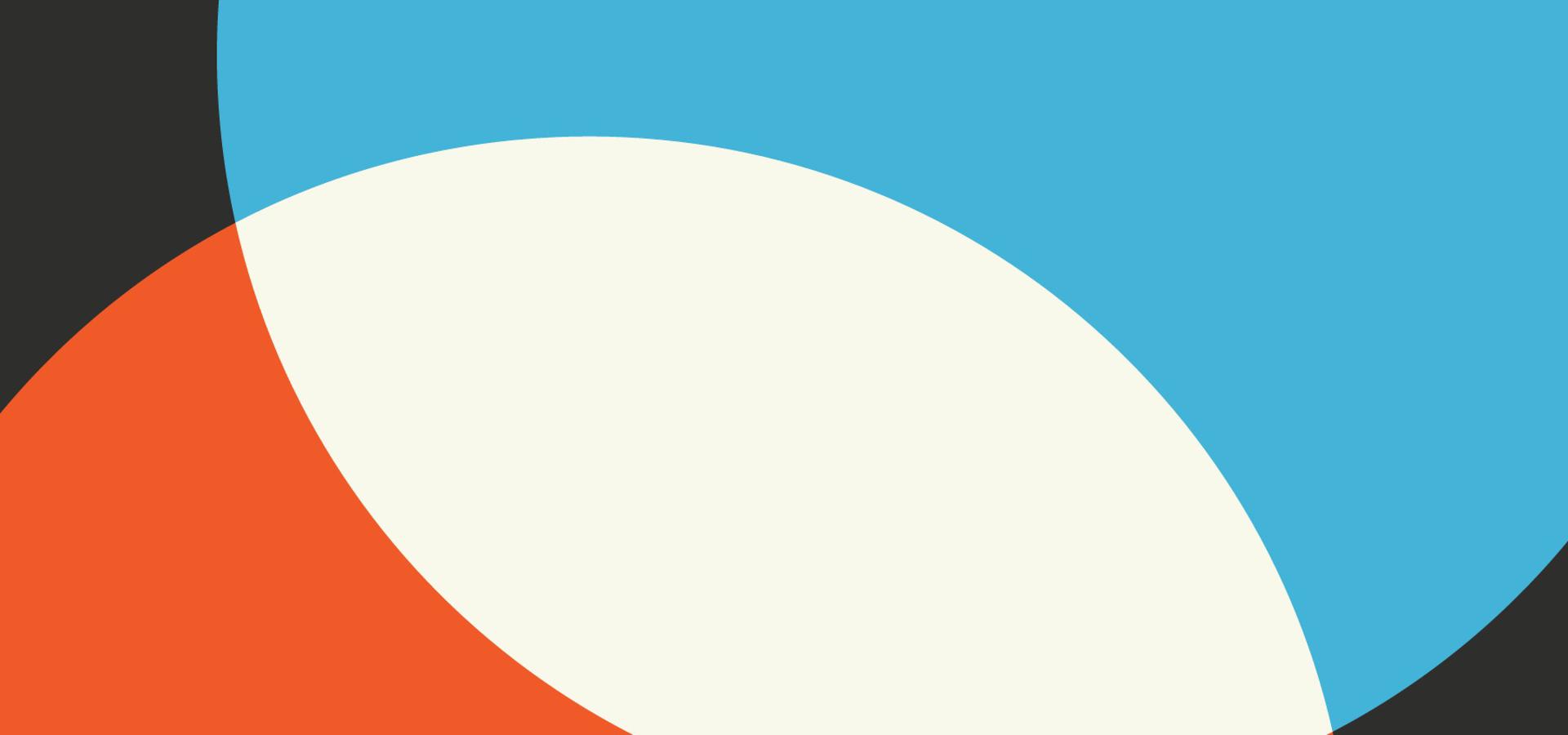 Antecedentes Geométricos Simples Color Azul Y Rojo Blanco