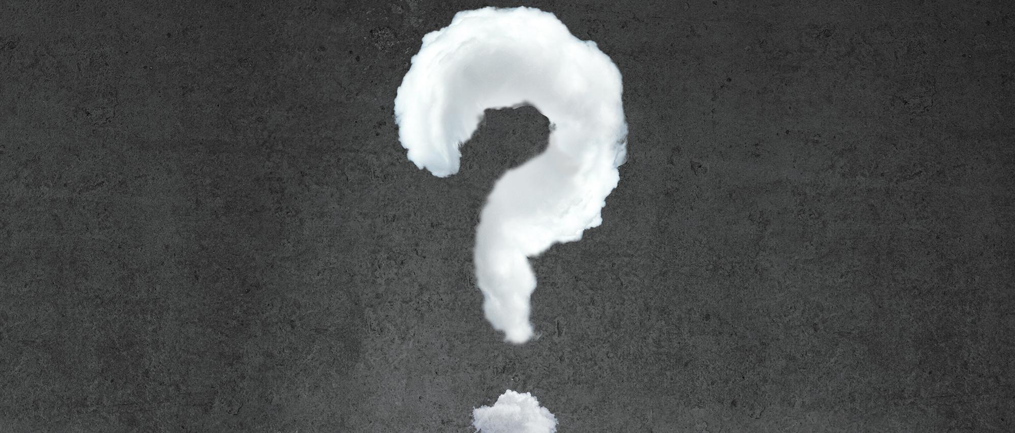 questions de fond point d interrogation cr u00e9atif les nuages