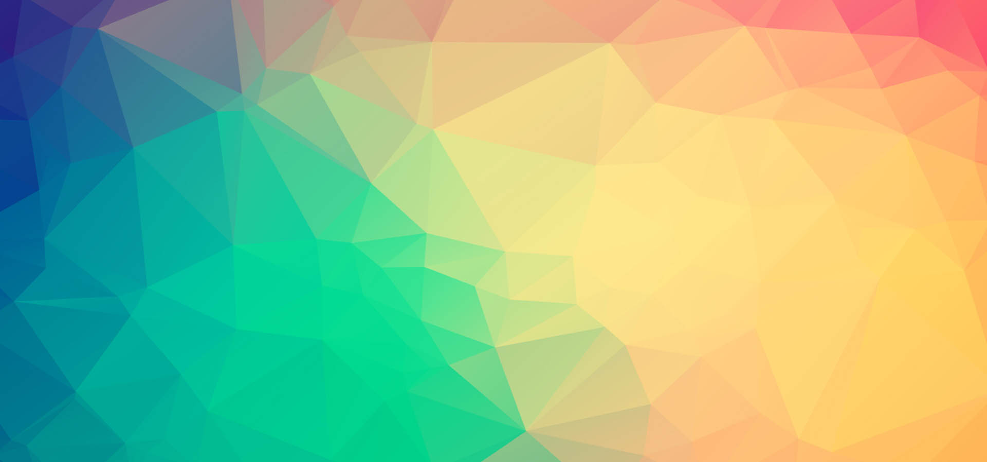 Colorful Low Polygon Background Banner, Low, Poly ...