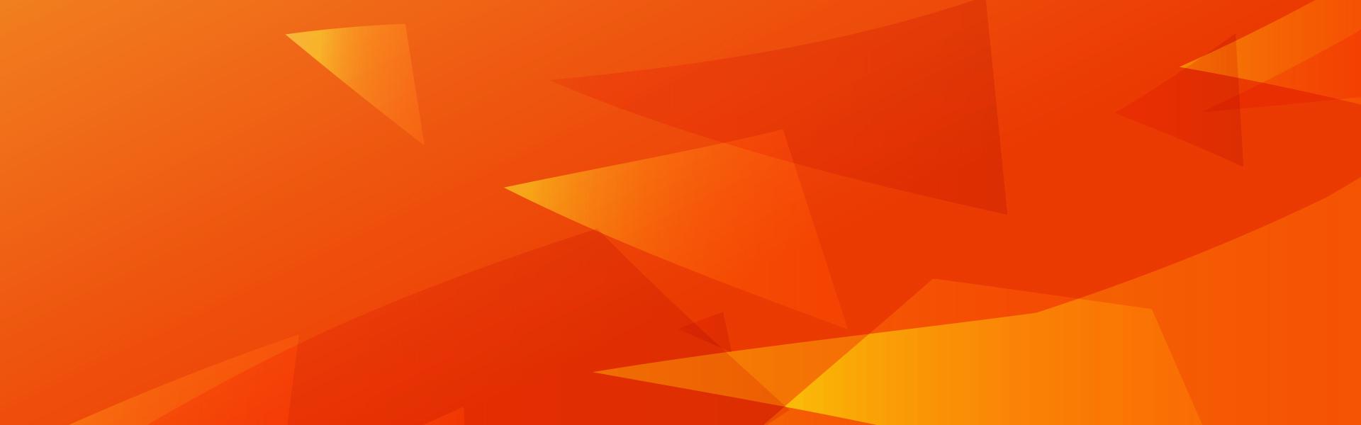 Orange Background Orange Geometry Poster Background