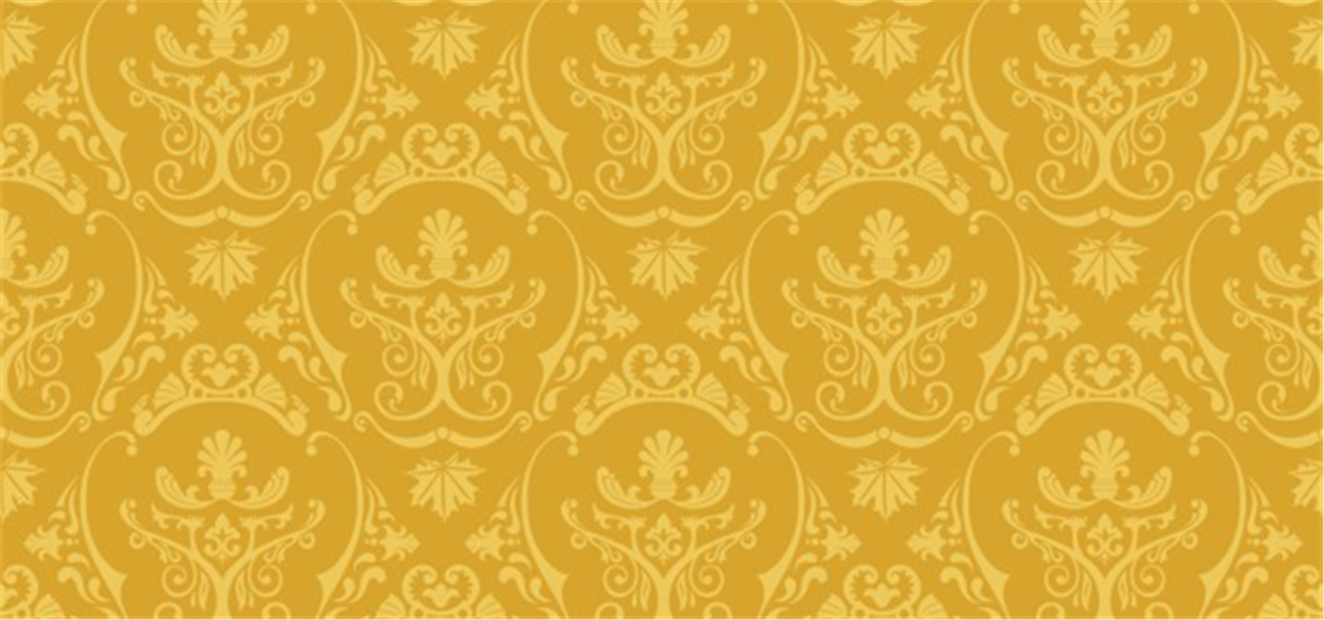 Grand Continental Pattern Background Premier Golden