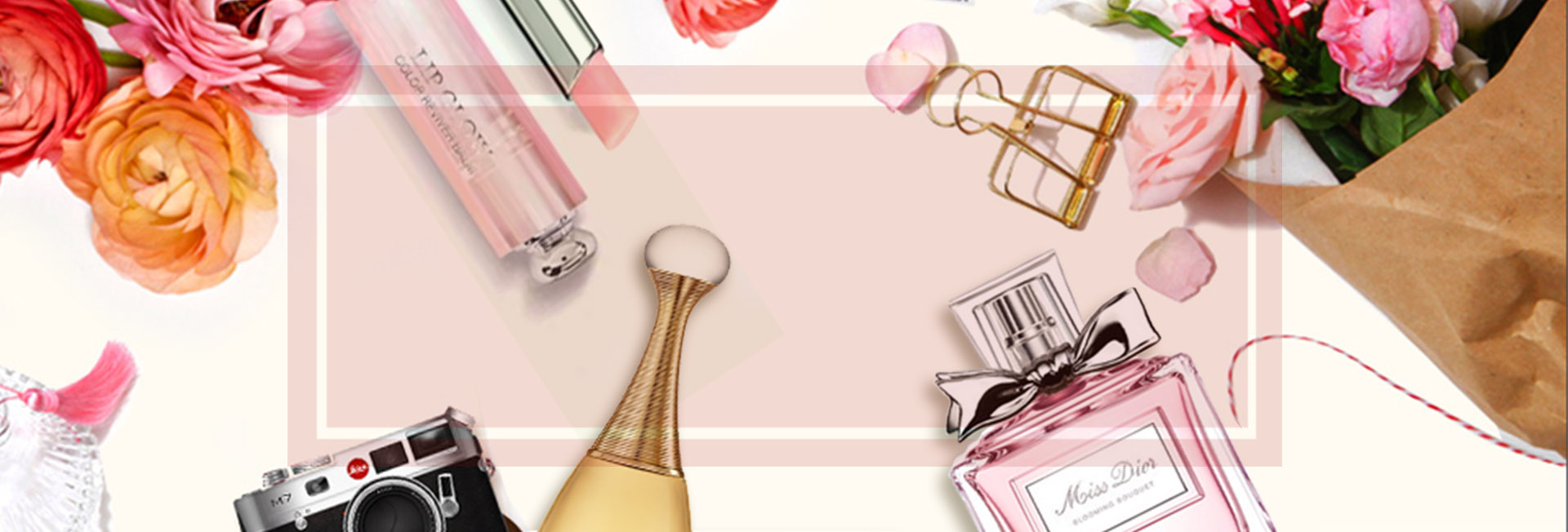 Posters Cosmetics Dior Cosmetic Luxury Background Image