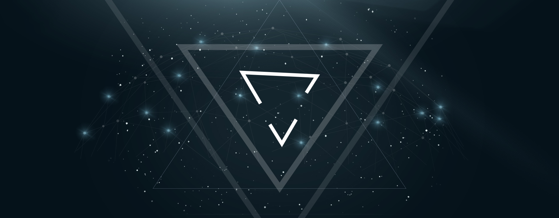 astral geometry background  triangle  poster banner  flat