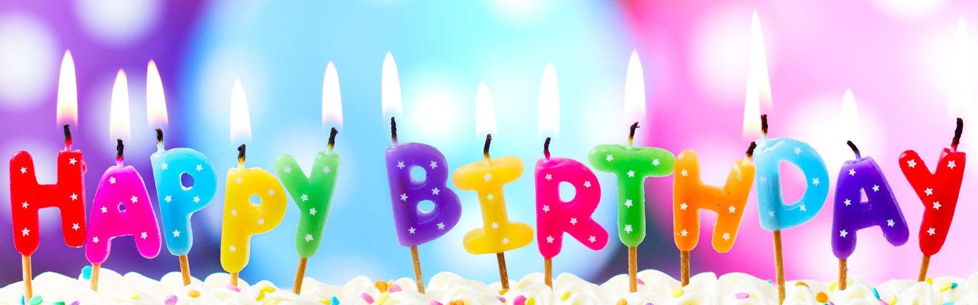 Background Birthday Cake Candle Birthday Cake Candle Happy