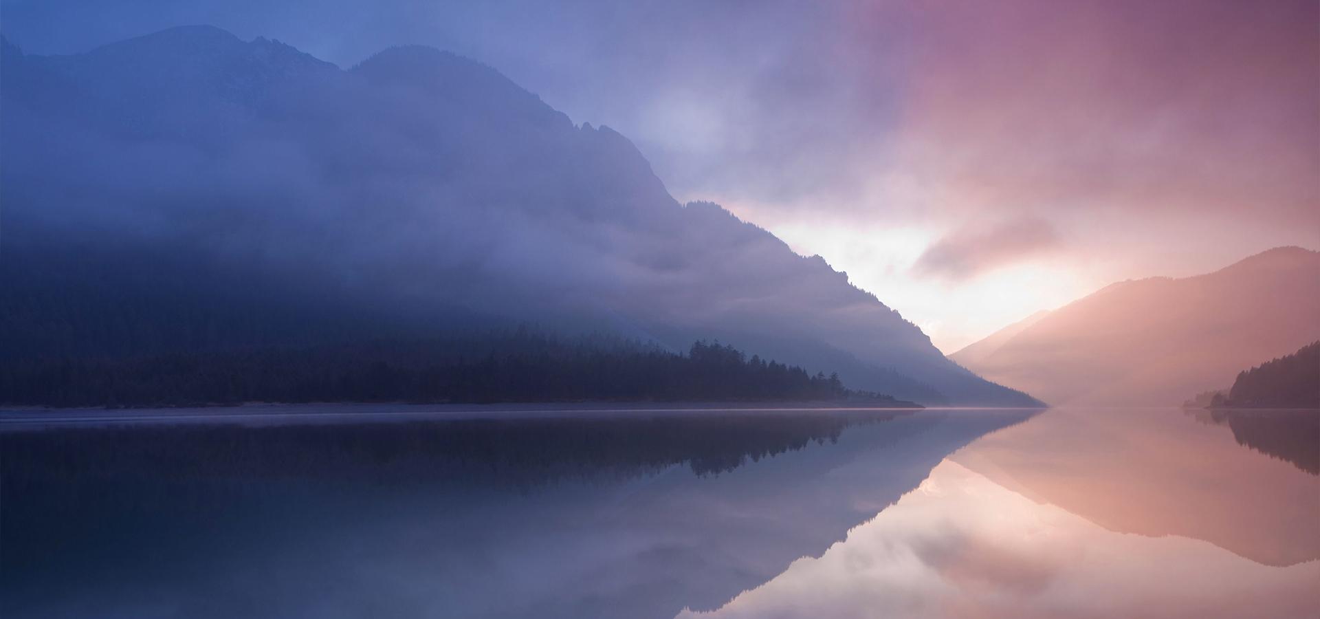 sur fond de paysage montagne montagne lake de l u0026 39 eau la