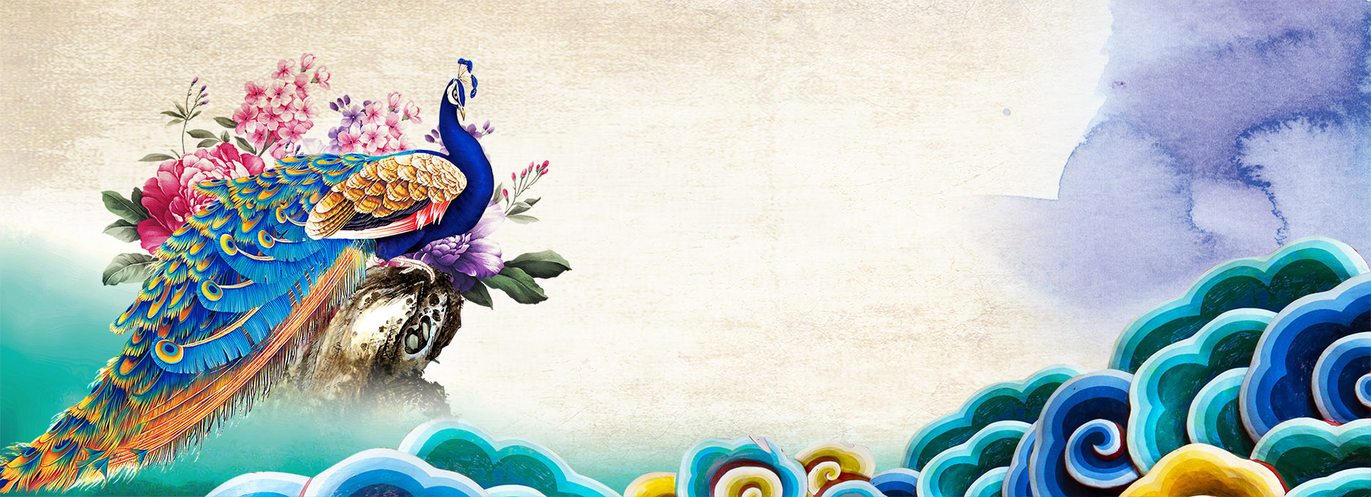 Colorful Food Wallpaper Free Download: Colorful Peacock, Colorful, Peacock, Animal Background