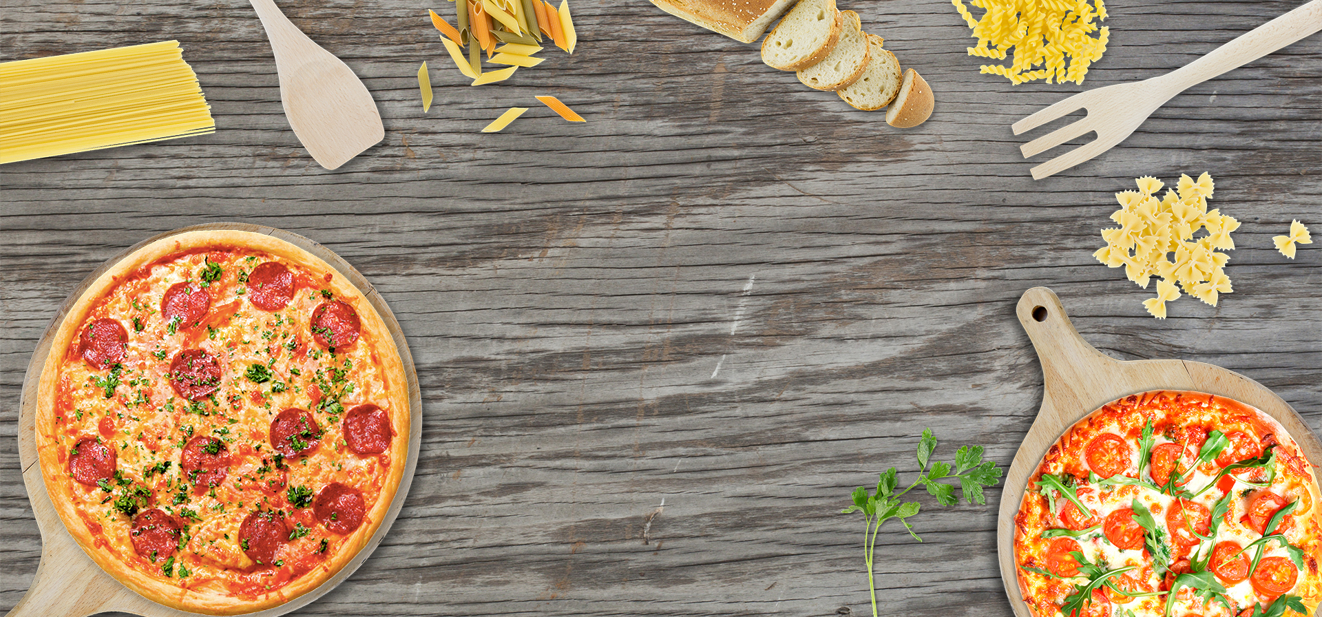 Pizza Background, Pizza, Food, Board Background Image for ...