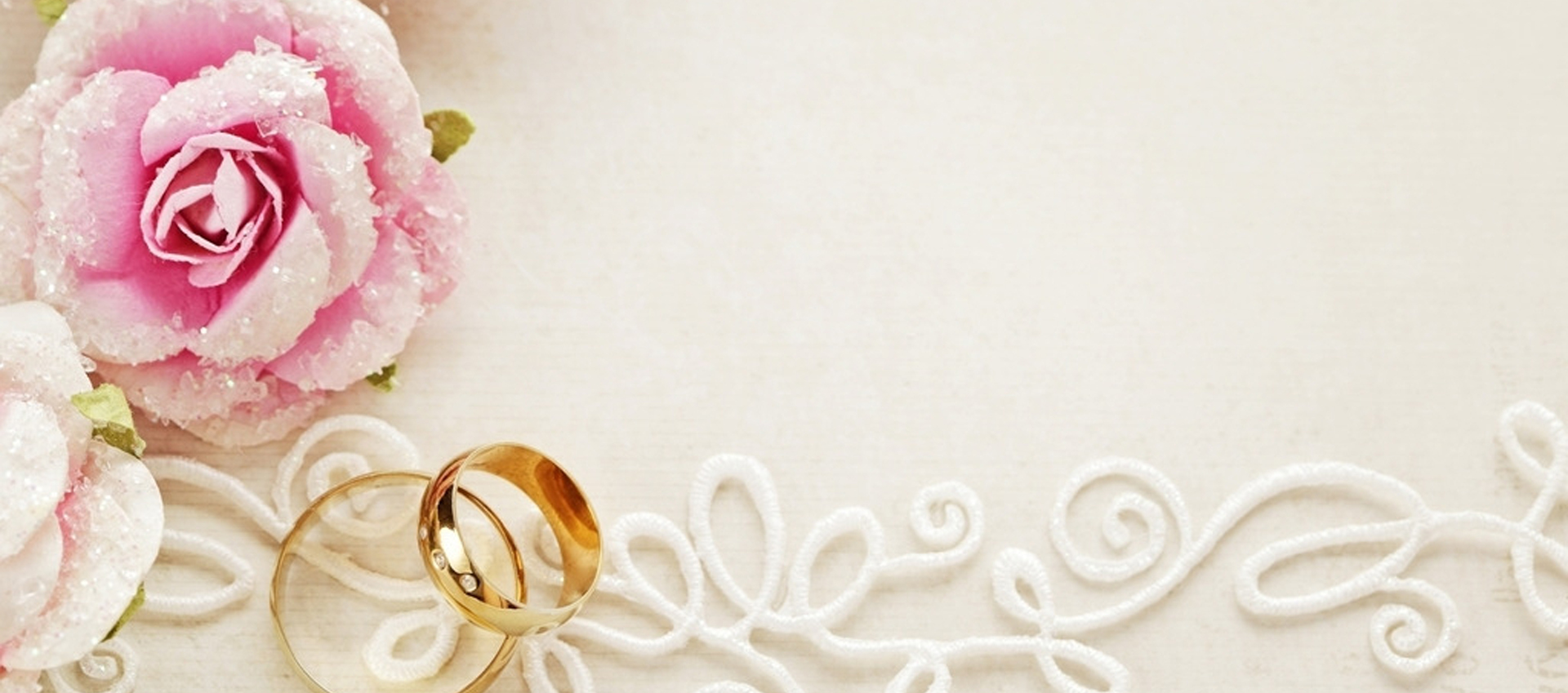 wedding ring and pink roses background  photography