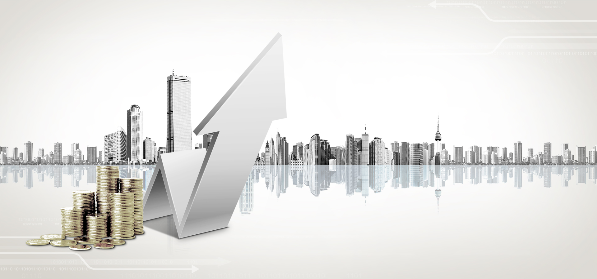 Economic Growth, Building, Economic, Increase Background ...