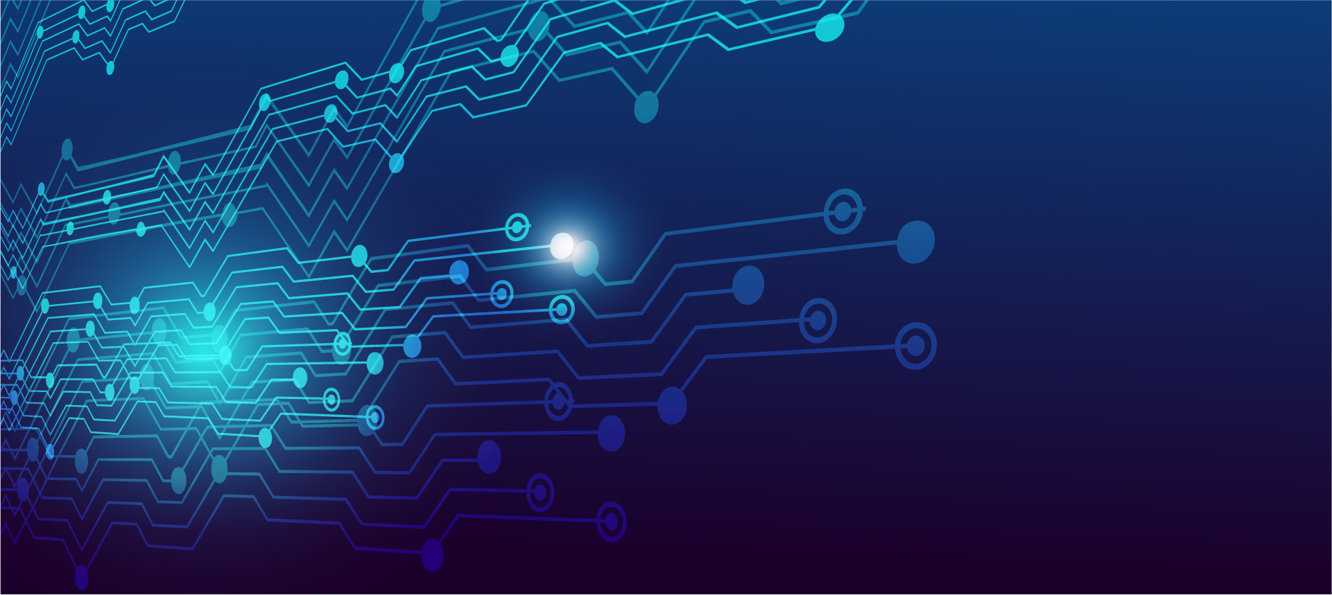 Blue Circuit Board Background Image For Free Vector Ai Graphics Download