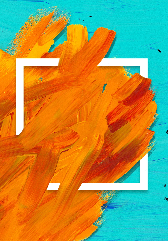 flat orange background  orange  flat  geometry background