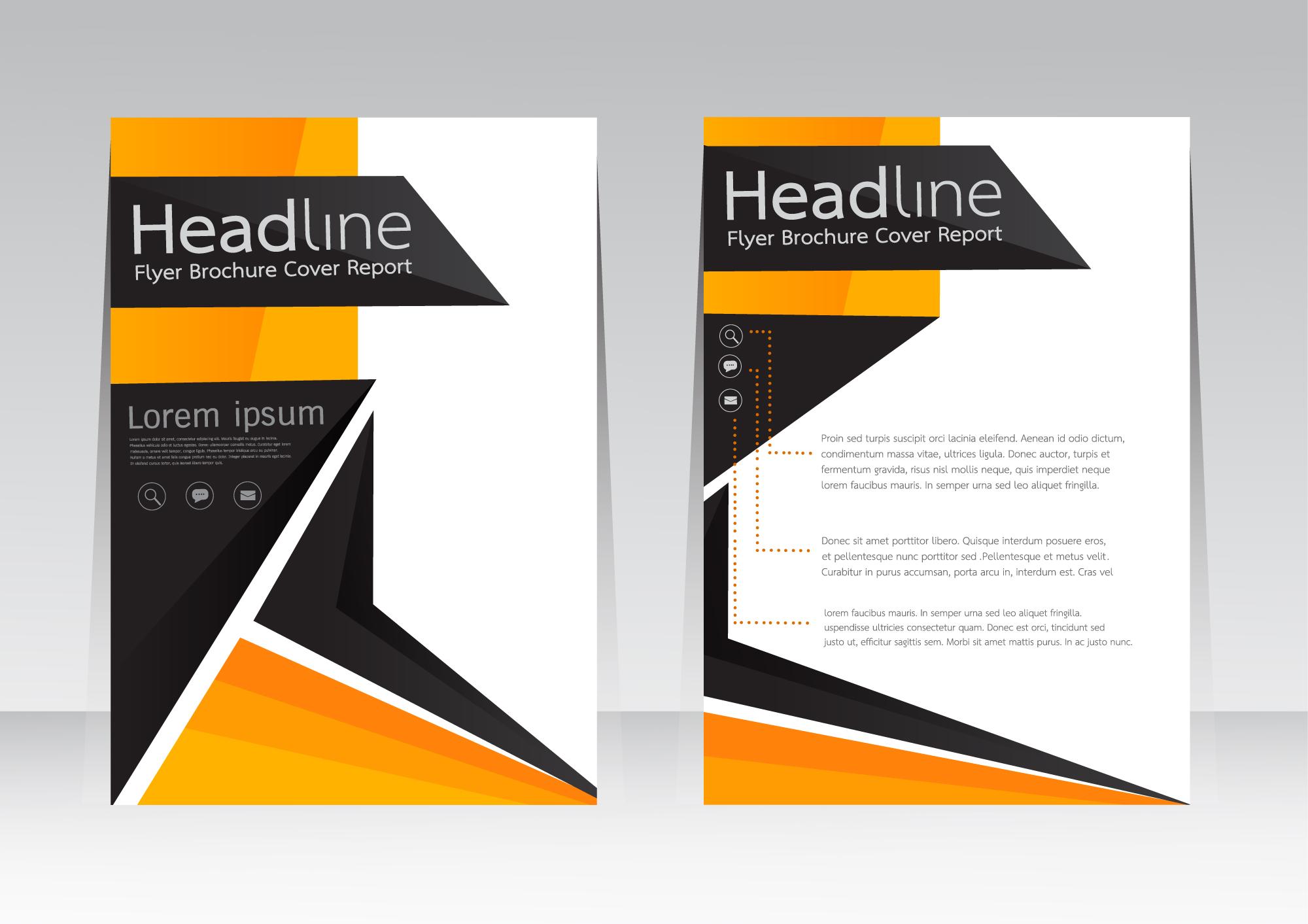Business Catalogs Brochures Singlepage Folding Flyers ...