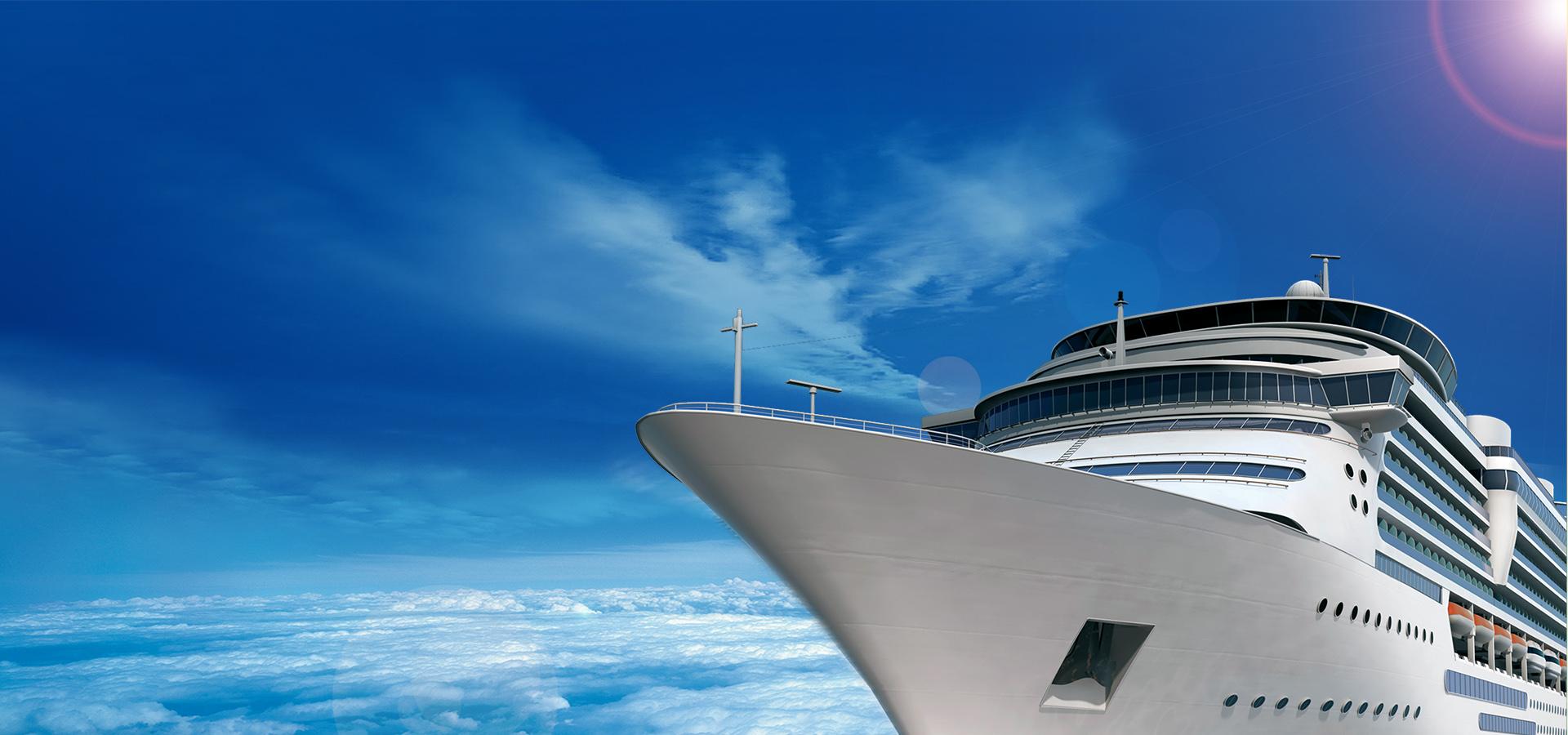blue sky cruise poster banner blue sky baiyun cruise