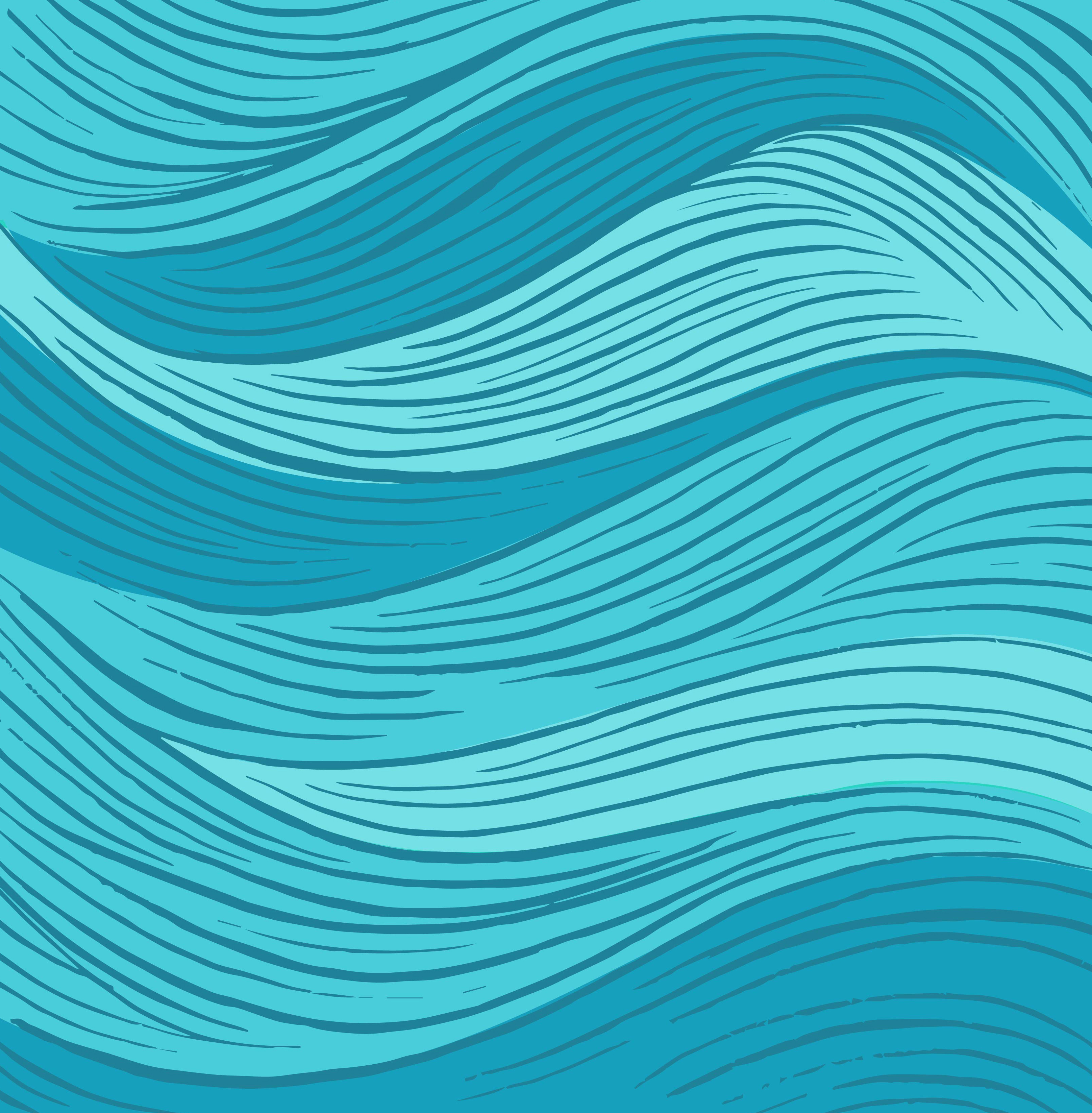 Blue Wavy Lines Background, Textured, Textures, Blue Background Image For Free Download