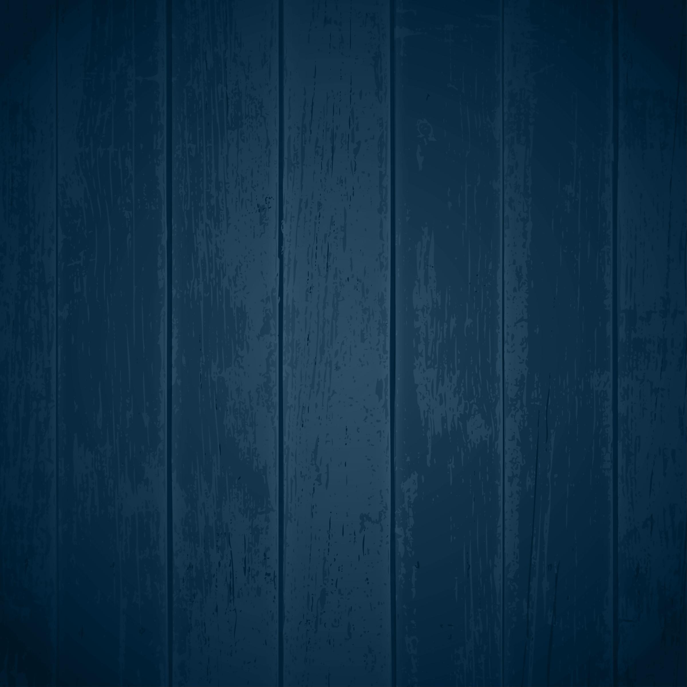 Blue Wood Texture Background Blue Board Grain