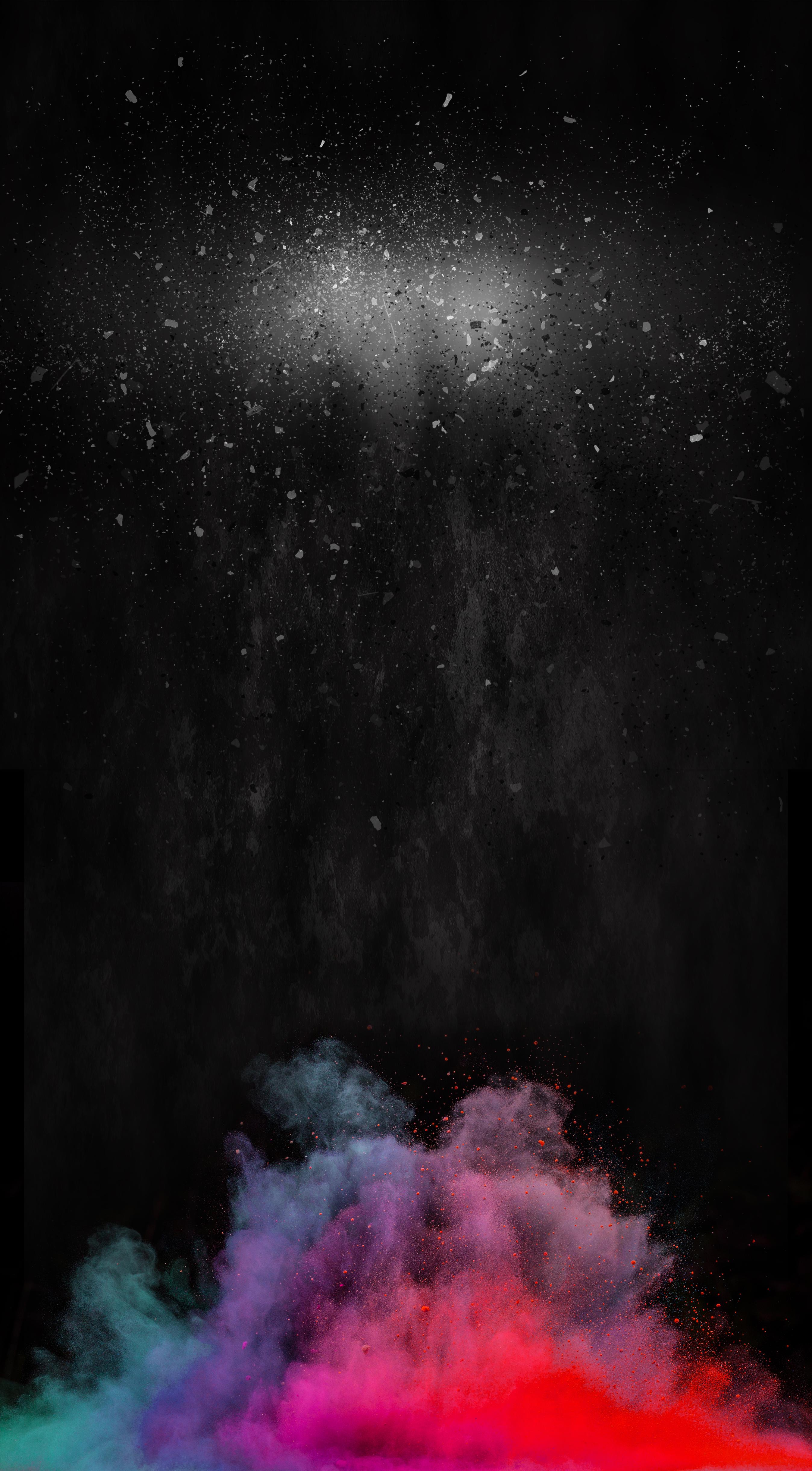 black texture background poster  splash  of  color
