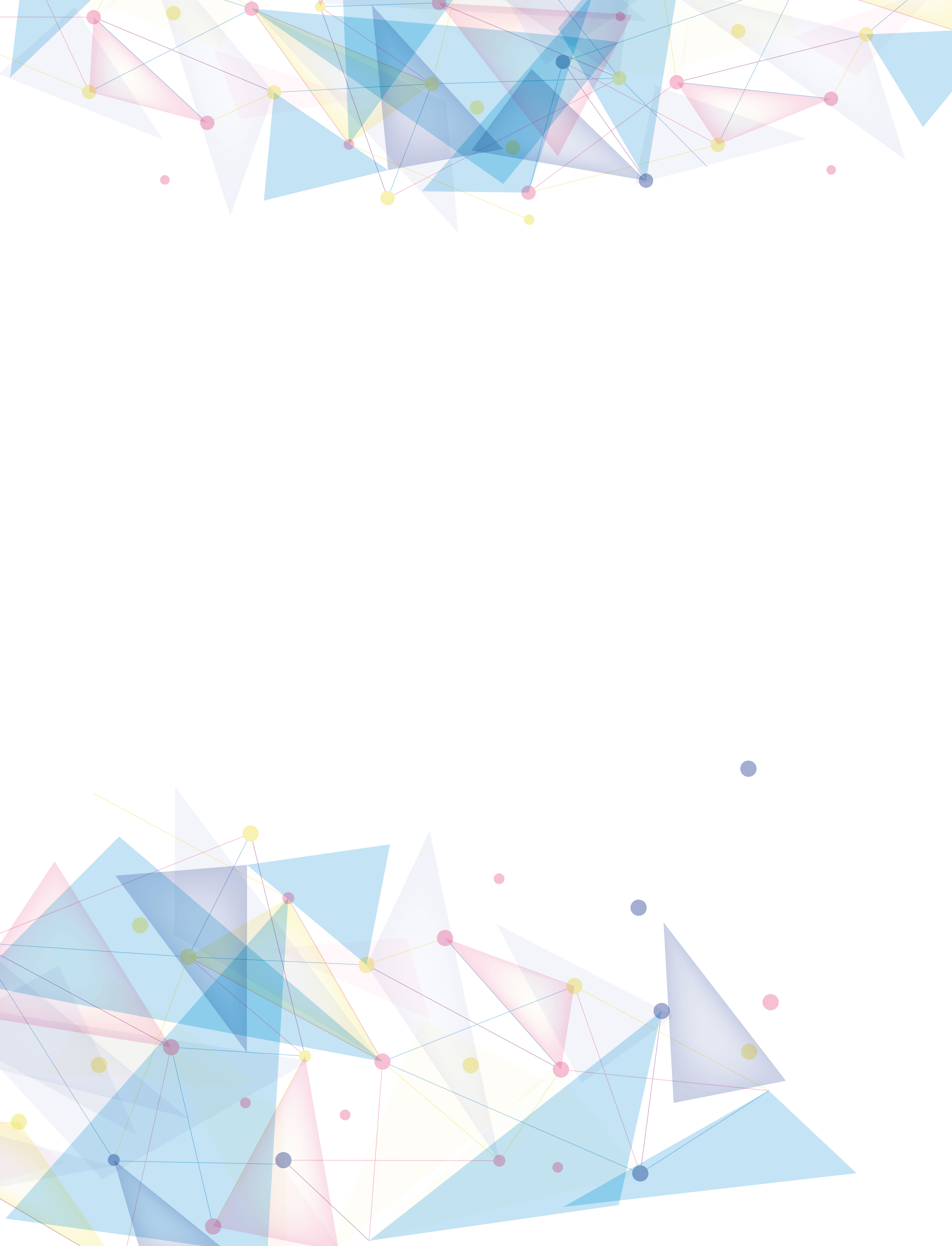 Calendar Templates Html : Small fresh colorful vector geometric background debris