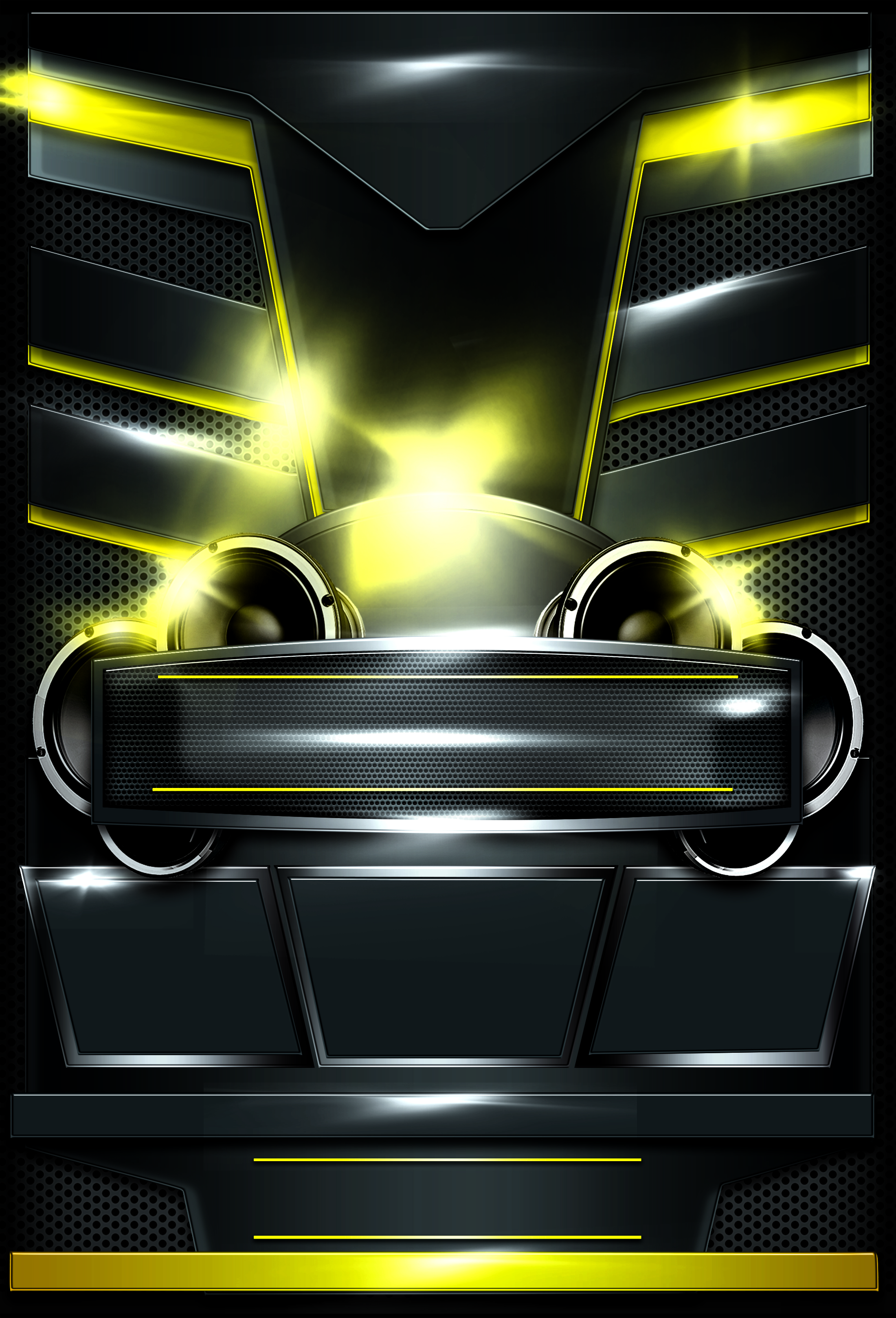 auto club party poster  car  club  party background image
