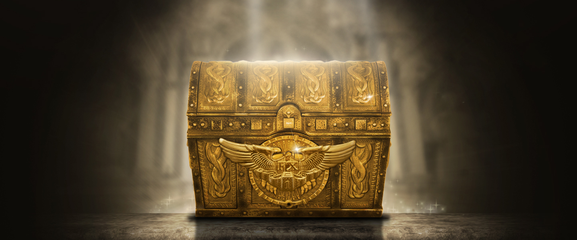 um ba u00fa de tesouro grey golden o tesouro imagem de plano de