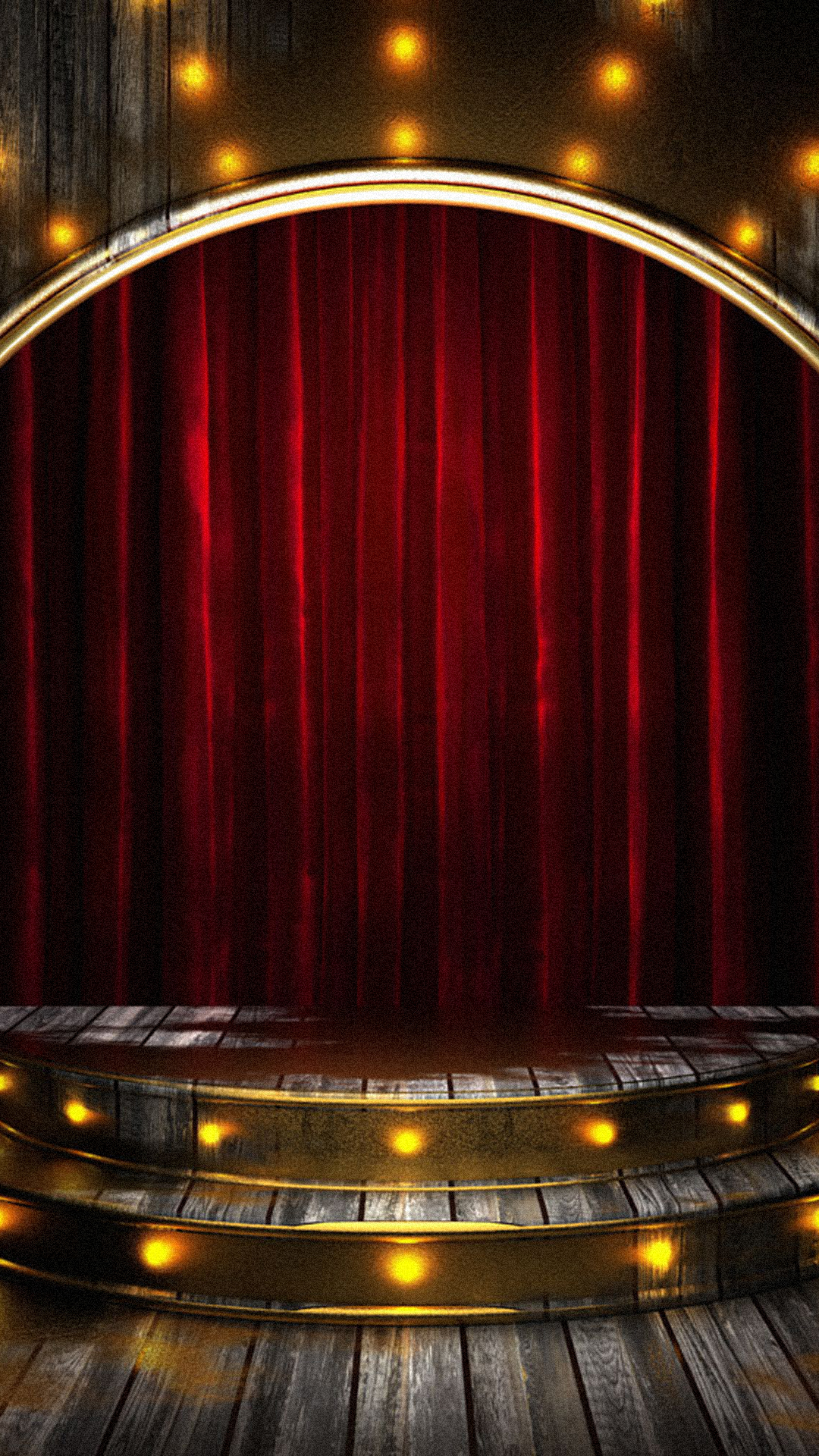 Stage Background Stage Curtain H5 Background Image For