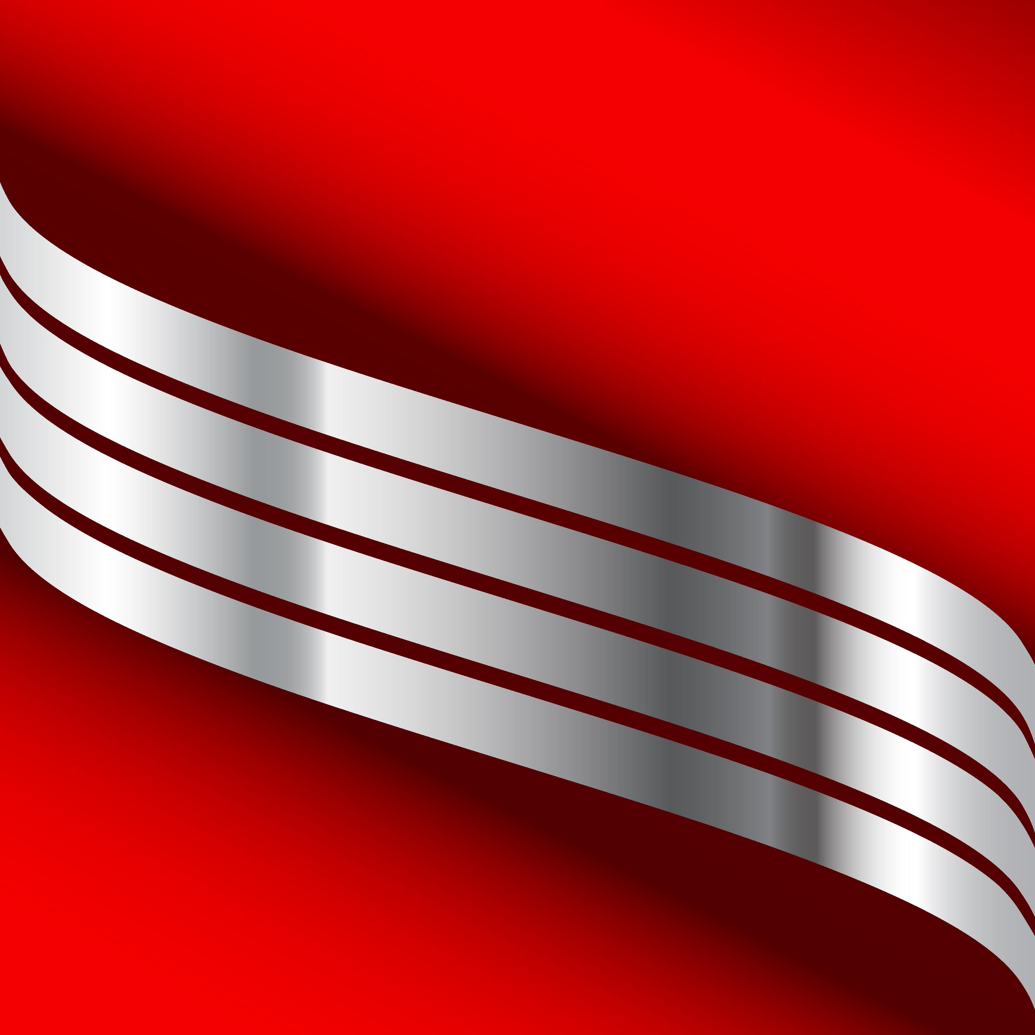 linha de fundo vermelho com prata prata a linha fundo
