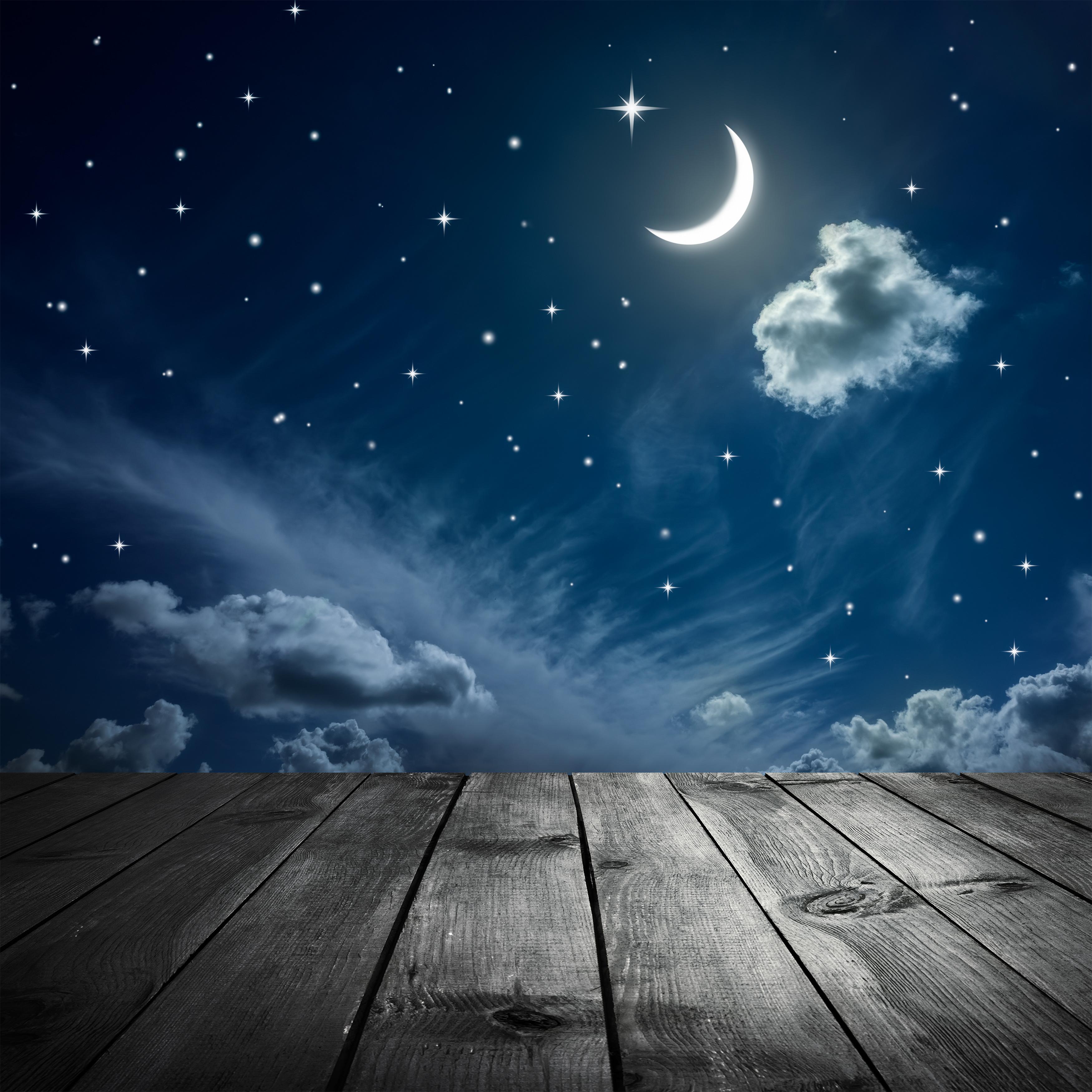 sky beautiful scenery wood hd photo  board  night  view
