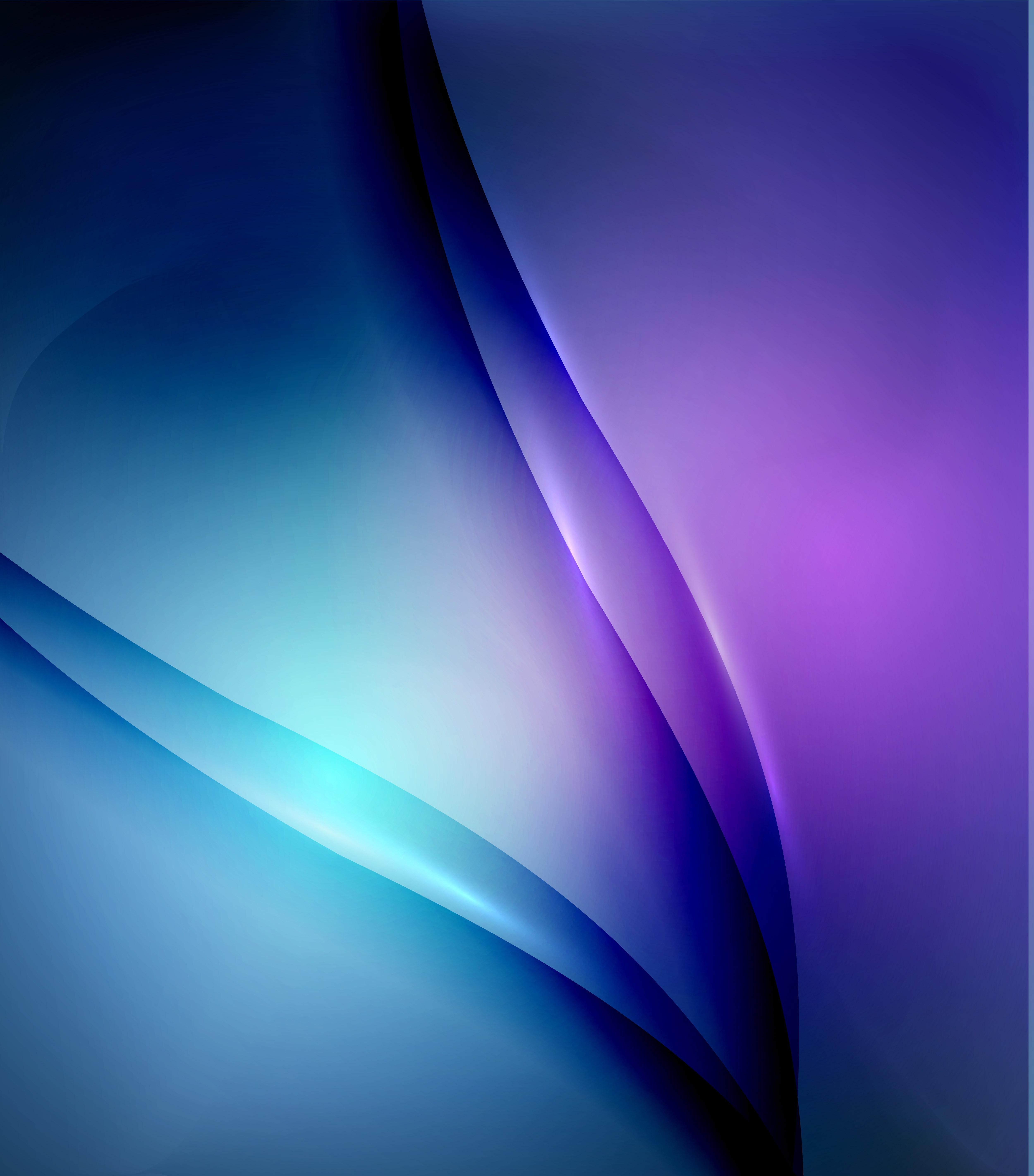 Il Gradiente Del Vettore Blu Sullo Sfondo Viola Acceso Blu Viola