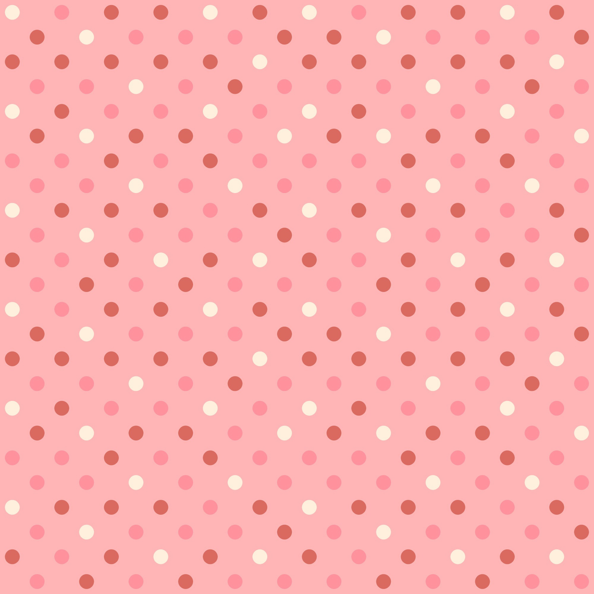 Pink Polka Dot Wallpaper: Pink Polka Dot Background, Pink, Polka Dot, Grain