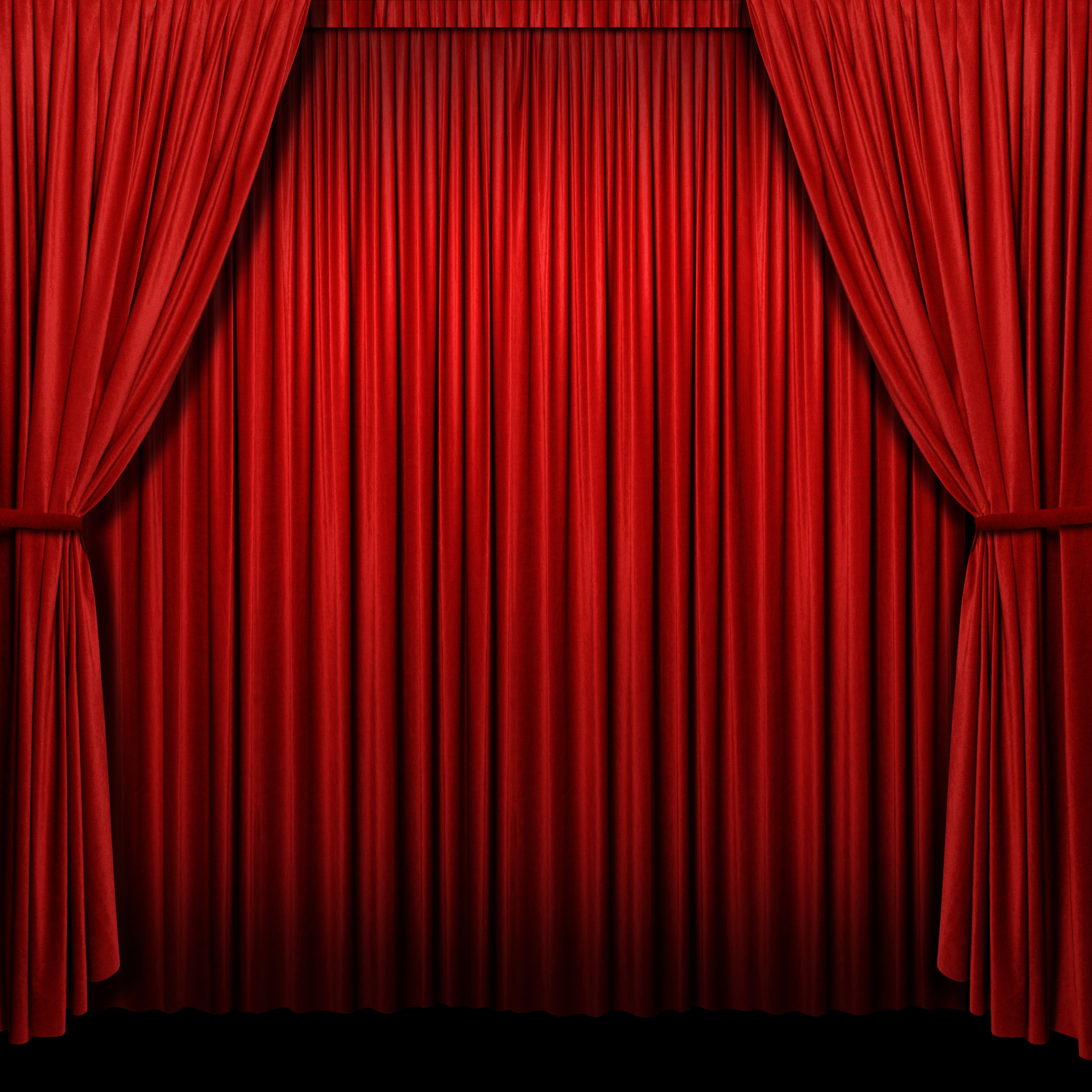 Red Curtain Stage Background Red Curtain Stage