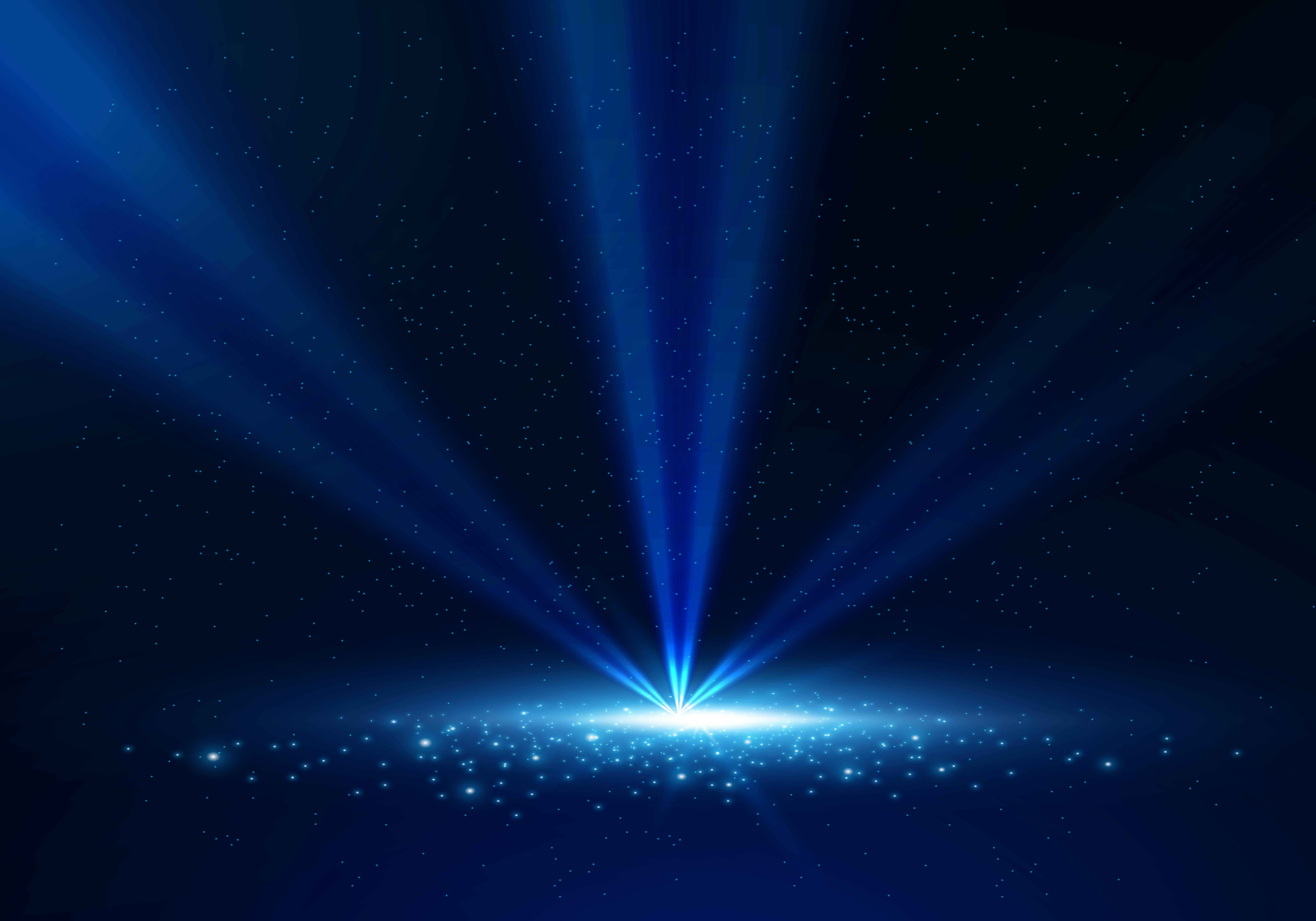 La nuit de l éclairage de la scène de fond bleu foncé Bleu La Nuit Laser Image de fond pour le ...
