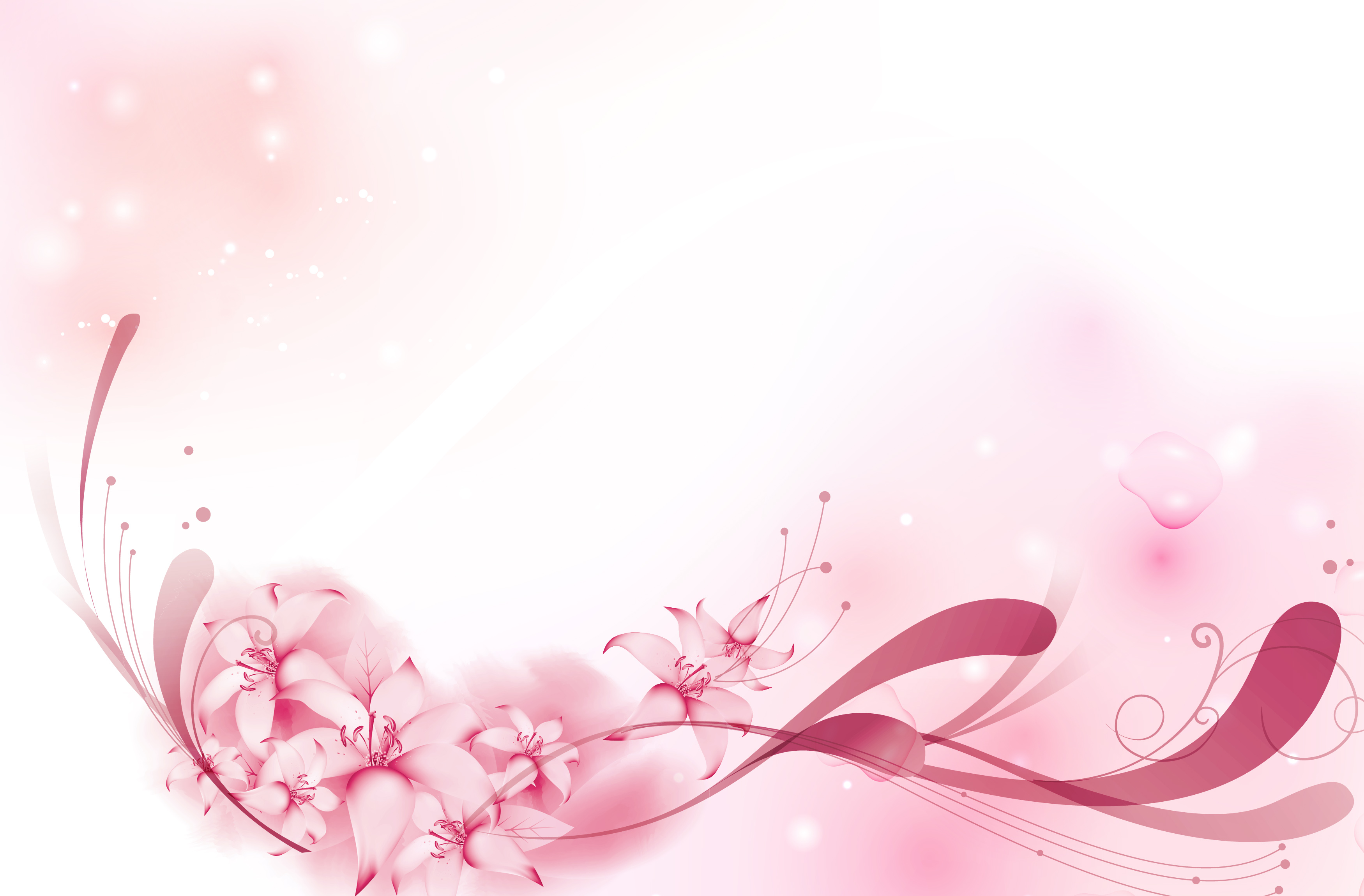 floral japan decoration flower background  art  pink