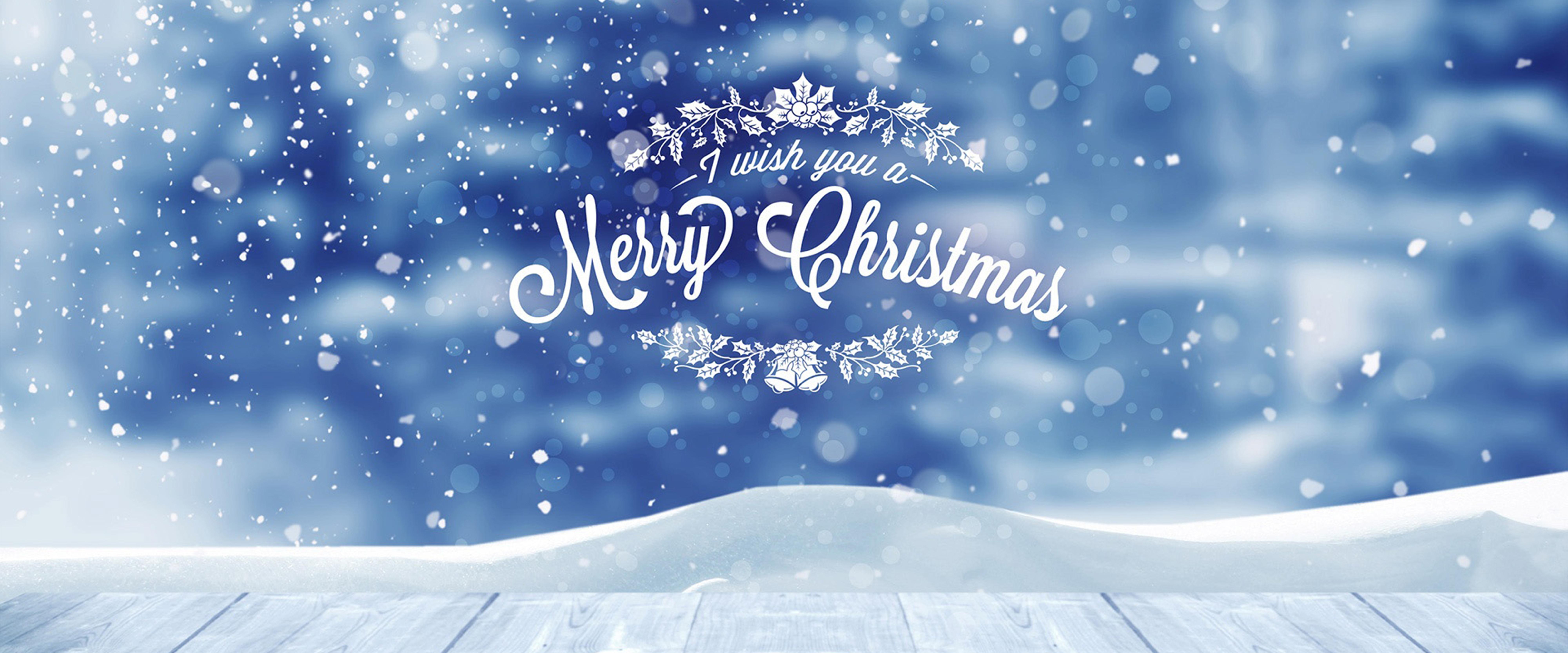Christmas Snow Background Poster, Blue, Snow, Christmas ...