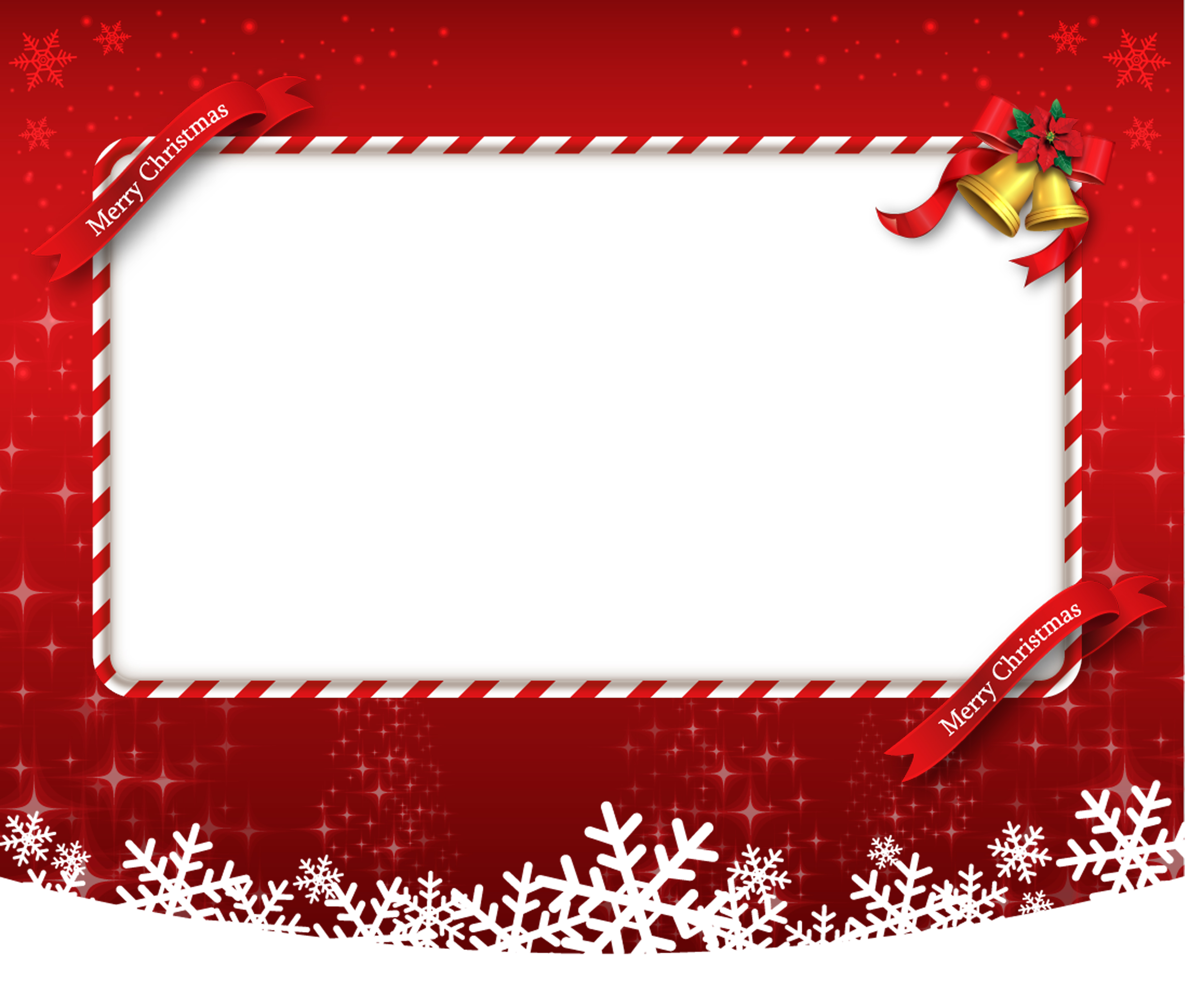 Cartoon Red Christmas Card Background Cartoon Red