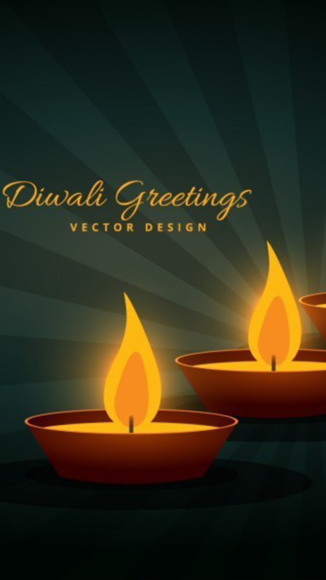 Diwali Greetings Background Happy Diwali Diwali Lights Diwali