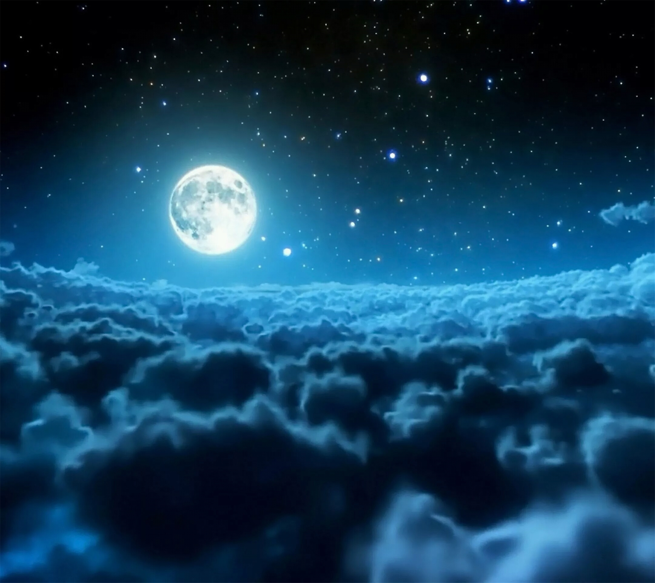Romantic Moonlight Background, Romantic, Moonlight, Photography Background Image For