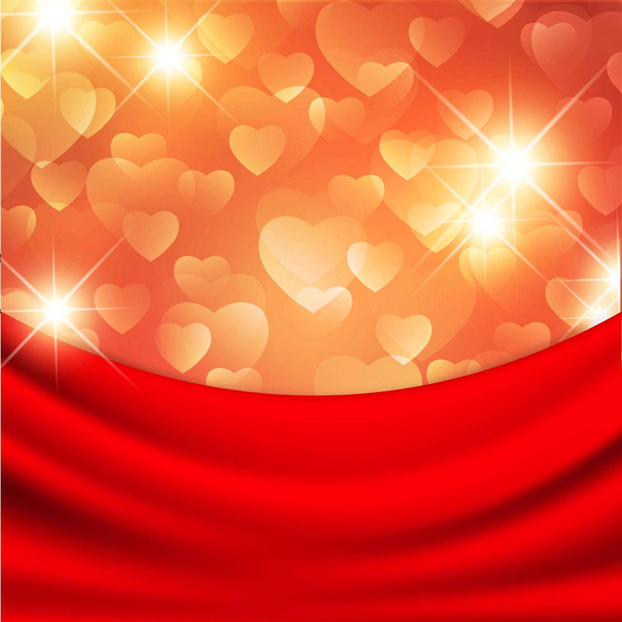 en forme de coeur de la journ u00e9e de la femme de l effet de lumi u00e8re de fond f u00eate des femmes en
